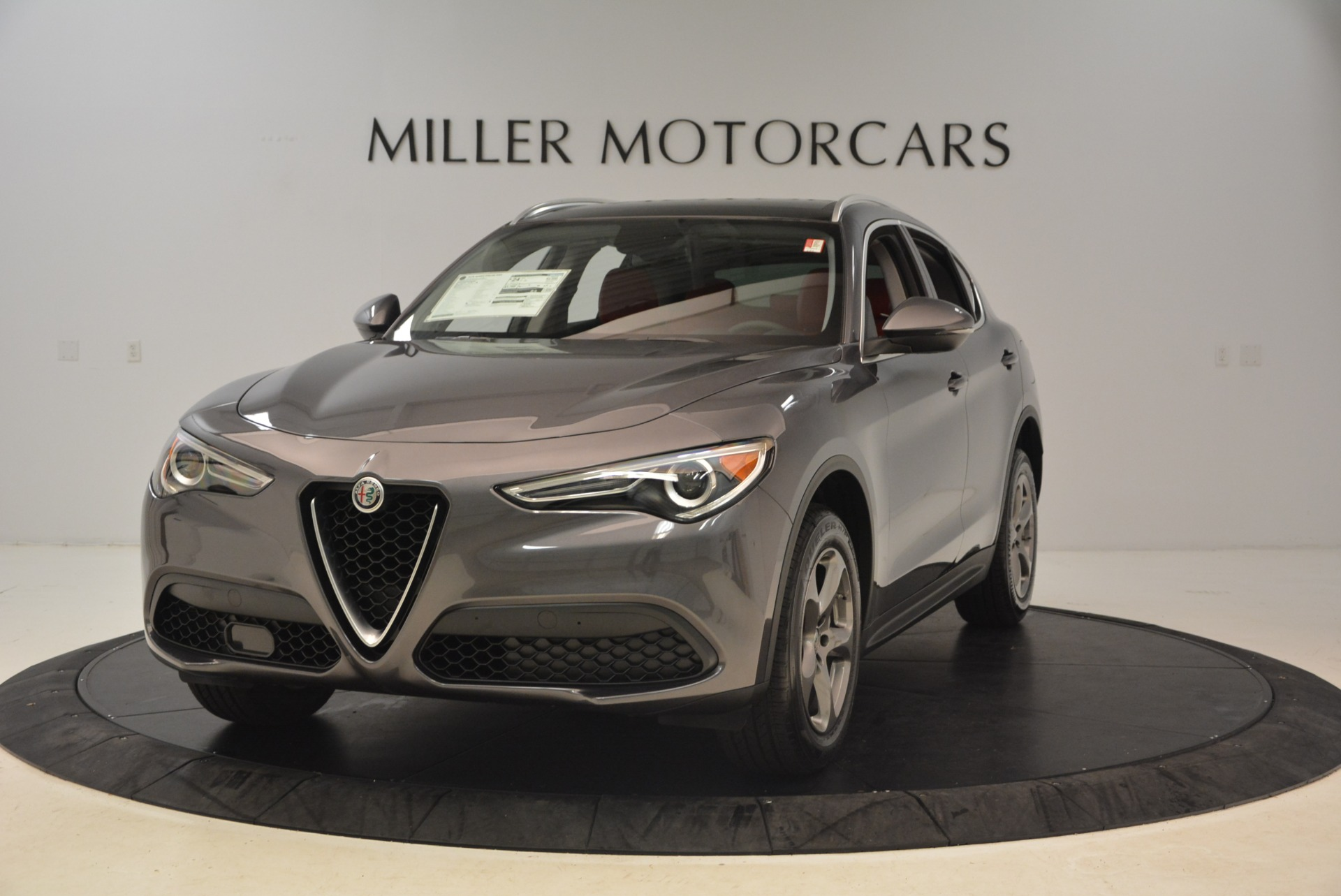 New 2018 Alfa Romeo Stelvio Q4 For Sale In Greenwich, CT 1493_main