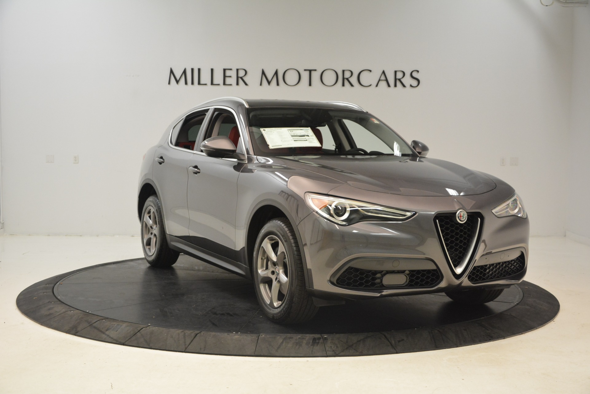 New 2018 Alfa Romeo Stelvio Q4 For Sale In Greenwich, CT 1493_p11