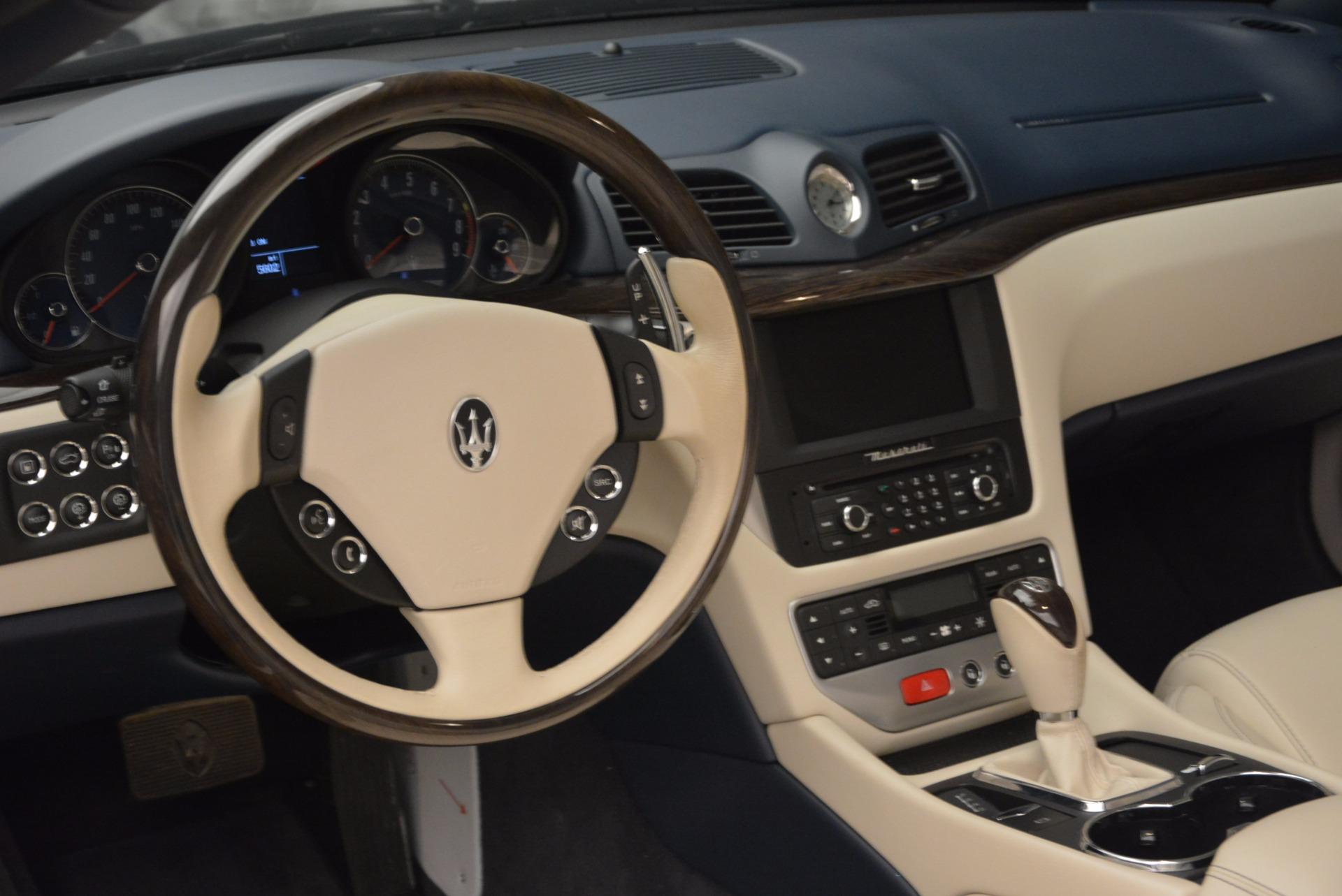 Used 2016 Maserati GranTurismo  For Sale In Greenwich, CT 1499_p25