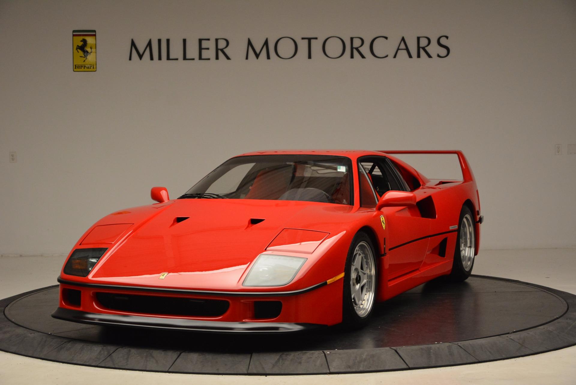 Used 1992 Ferrari F40  For Sale In Greenwich, CT 1500_main