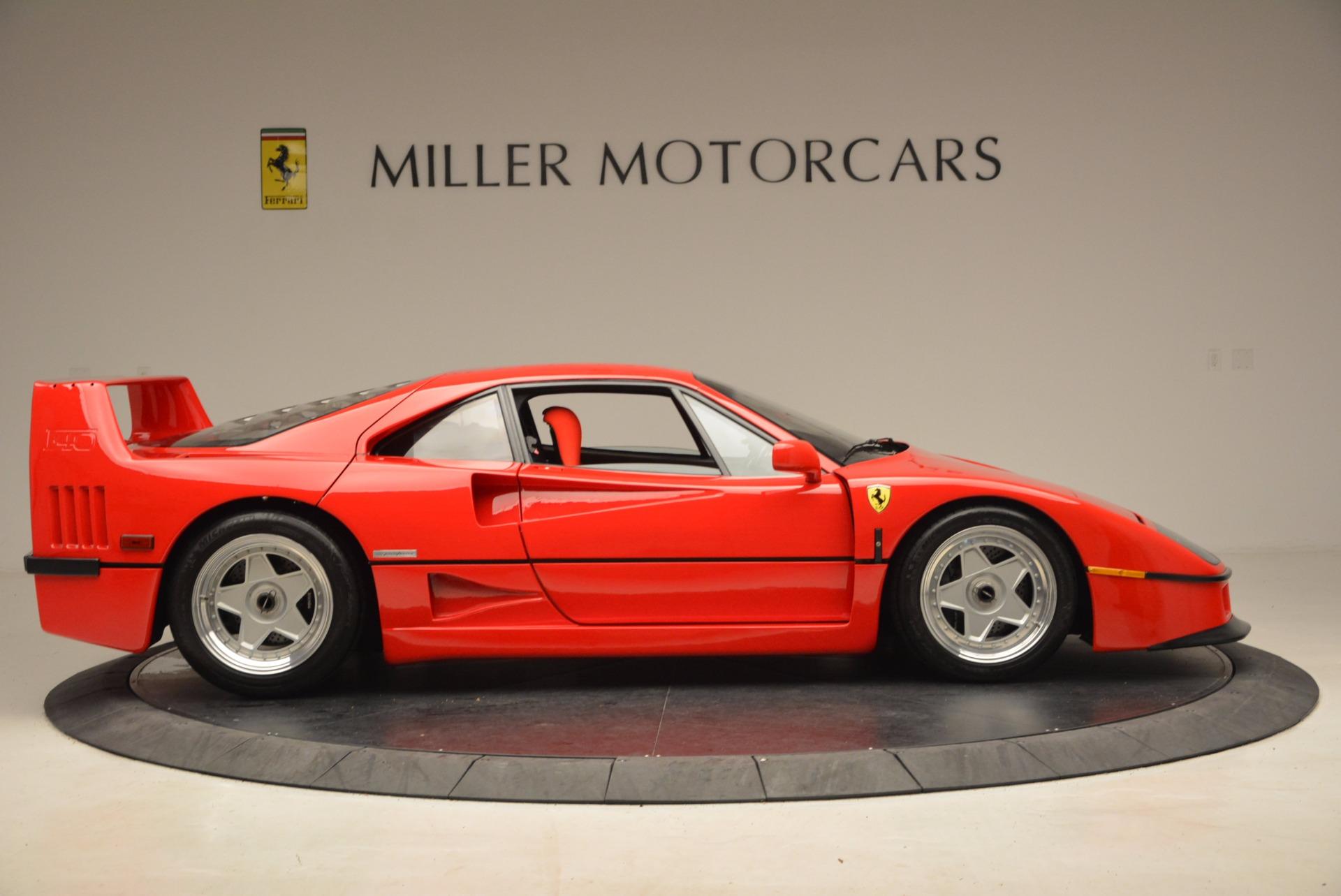 Used 1992 Ferrari F40  For Sale In Greenwich, CT 1500_p10