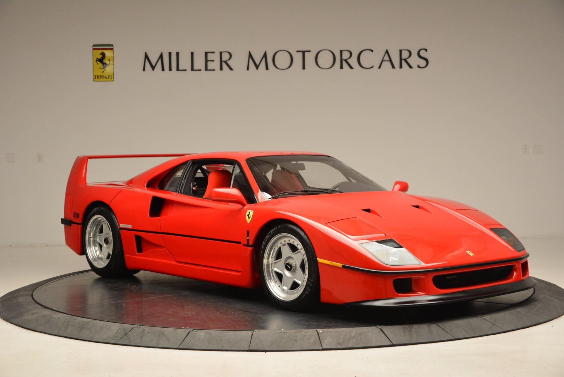 Used 1992 Ferrari F40  For Sale In Greenwich, CT 1500_p12
