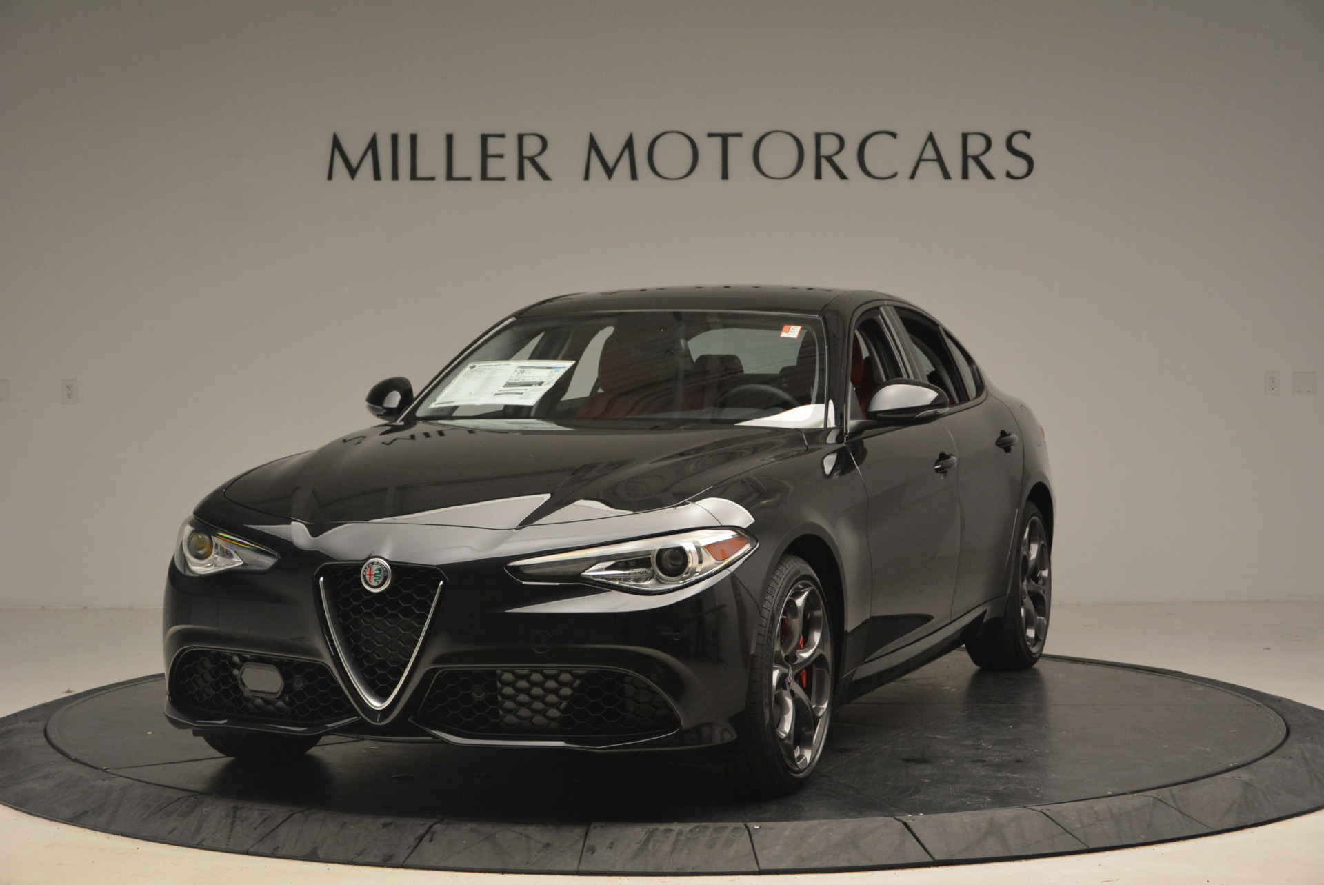 New 2017 Alfa Romeo Giulia Ti Sport Q4 For Sale In Greenwich, CT 1505_main