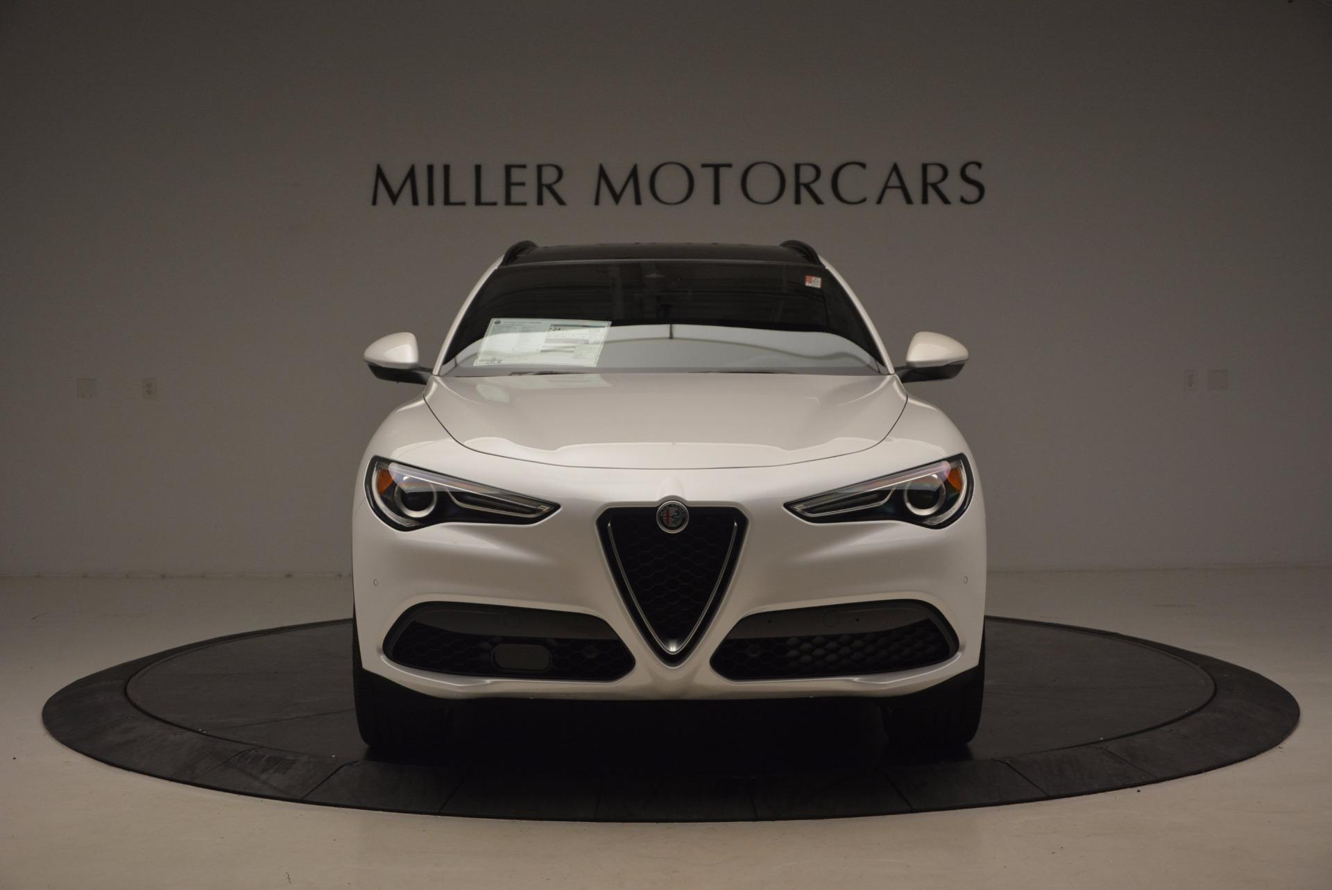 New 2018 Alfa Romeo Stelvio Ti Sport Q4 For Sale In Greenwich, CT 1517_p12