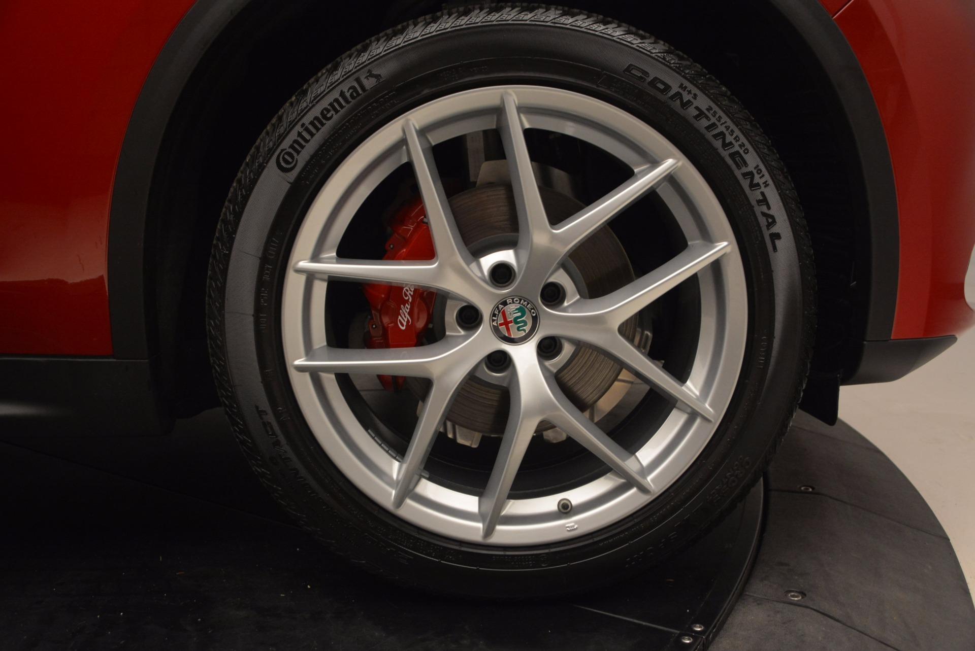 New 2018 Alfa Romeo Stelvio Ti Sport Q4 For Sale In Greenwich, CT 1521_p25