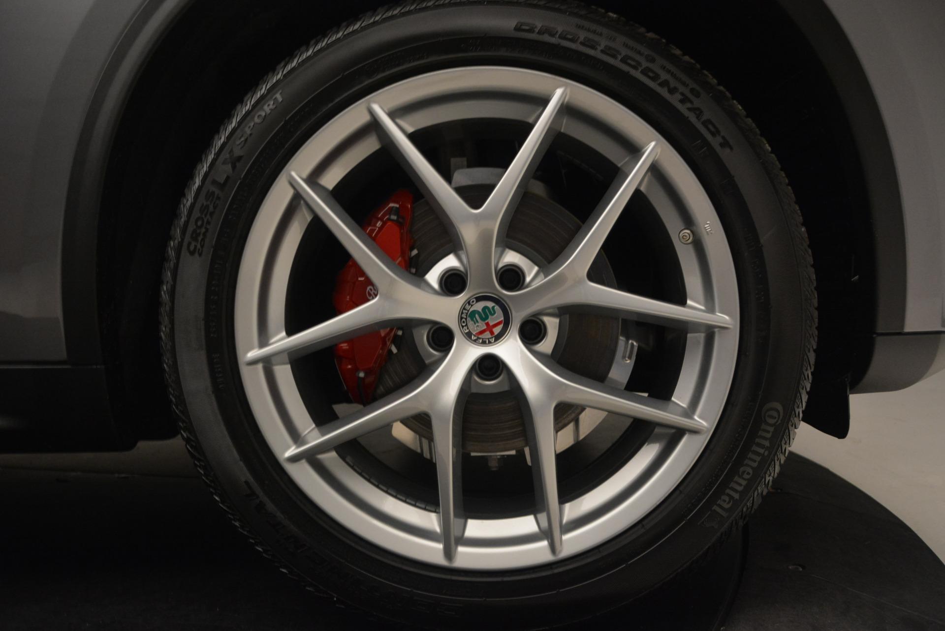 New 2018 Alfa Romeo Stelvio Q4 For Sale In Greenwich, CT 1523_p25