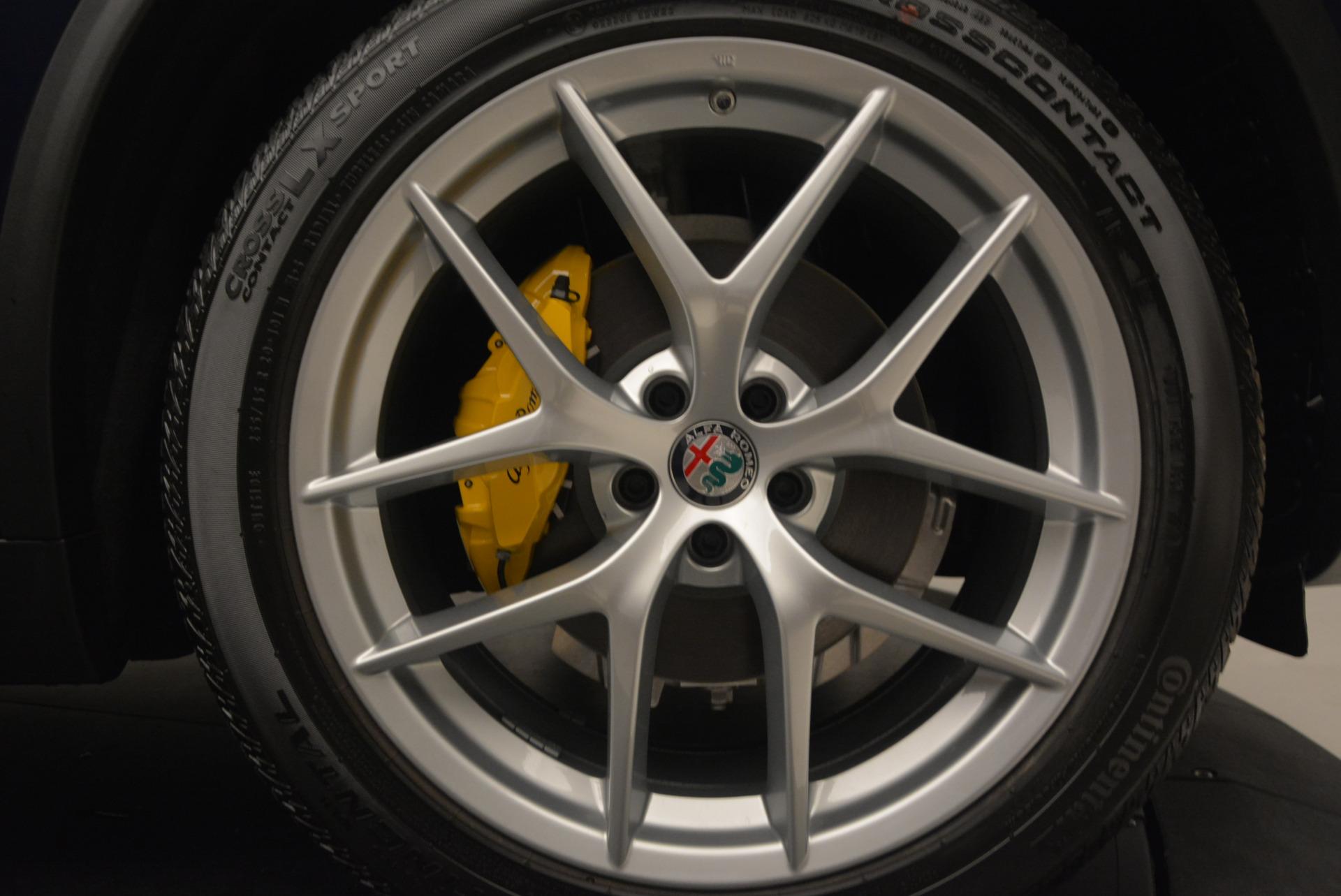 New 2018 Alfa Romeo Stelvio Ti Q4 For Sale In Greenwich, CT 1527_p25
