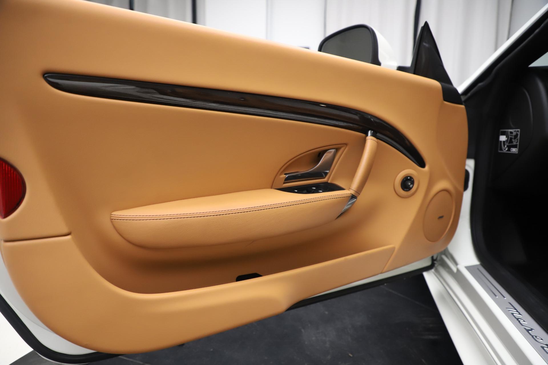New 2017 Maserati GranTurismo Convertible Sport For Sale In Greenwich, CT 153_p27