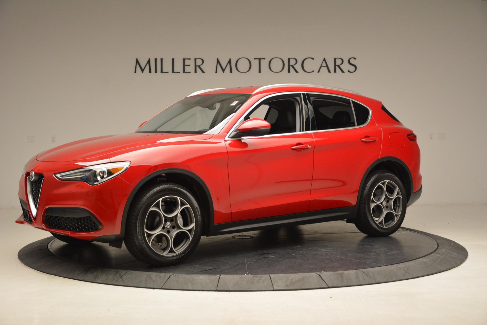 New 2018 Alfa Romeo Stelvio Q4 For Sale In Greenwich, CT 1532_p2