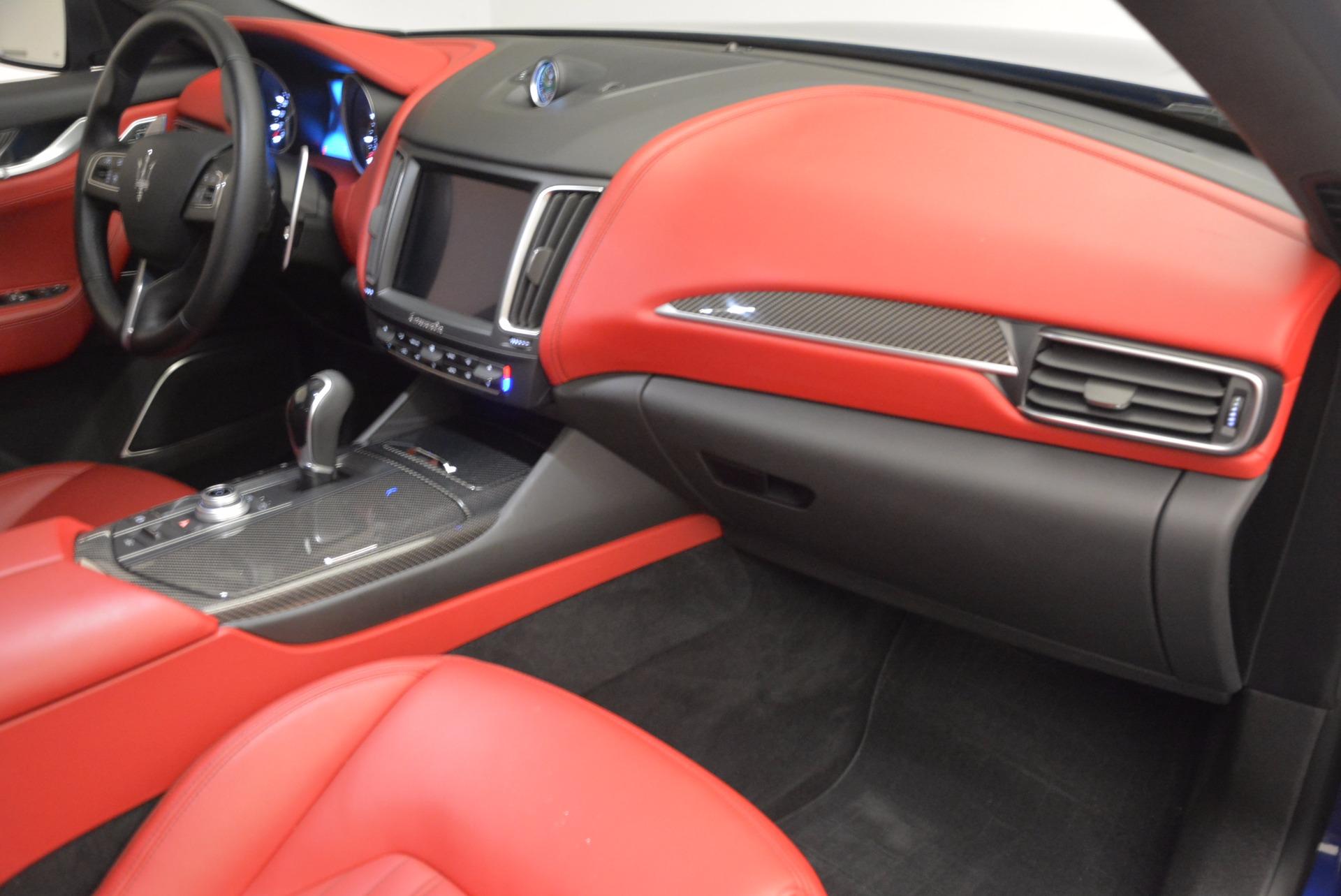 Used 2017 Maserati Levante S Q4 For Sale In Greenwich, CT 1533_p23