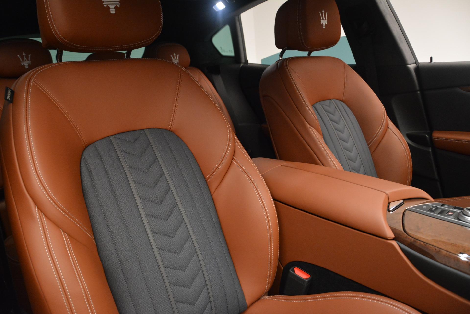 New 2018 Maserati Levante Q4 GranLusso For Sale In Greenwich, CT 1536_p25