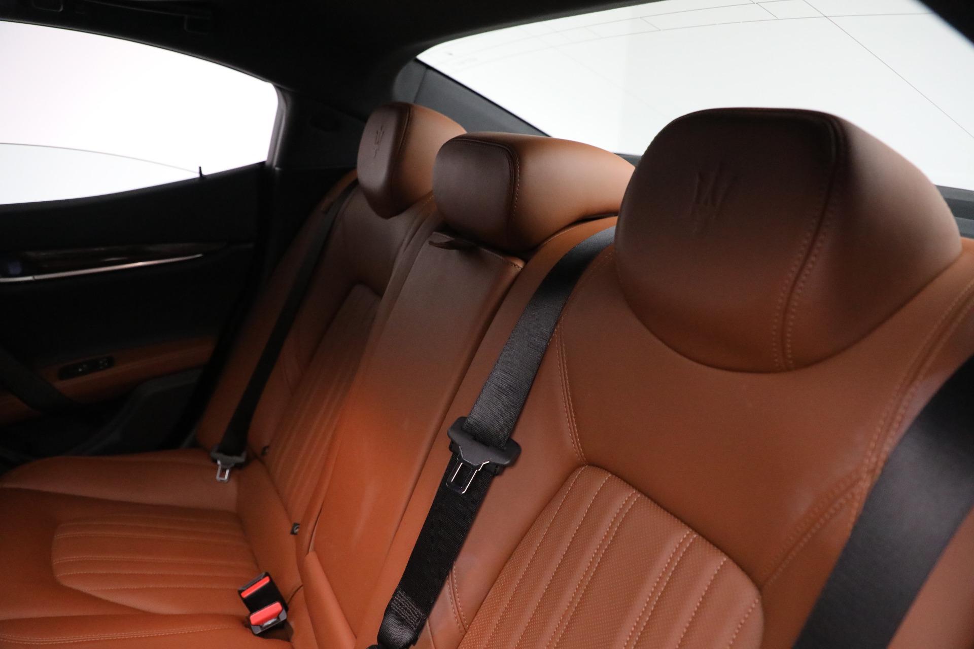 New 2018 Maserati Ghibli S Q4 GranLusso For Sale In Greenwich, CT 1539_p17