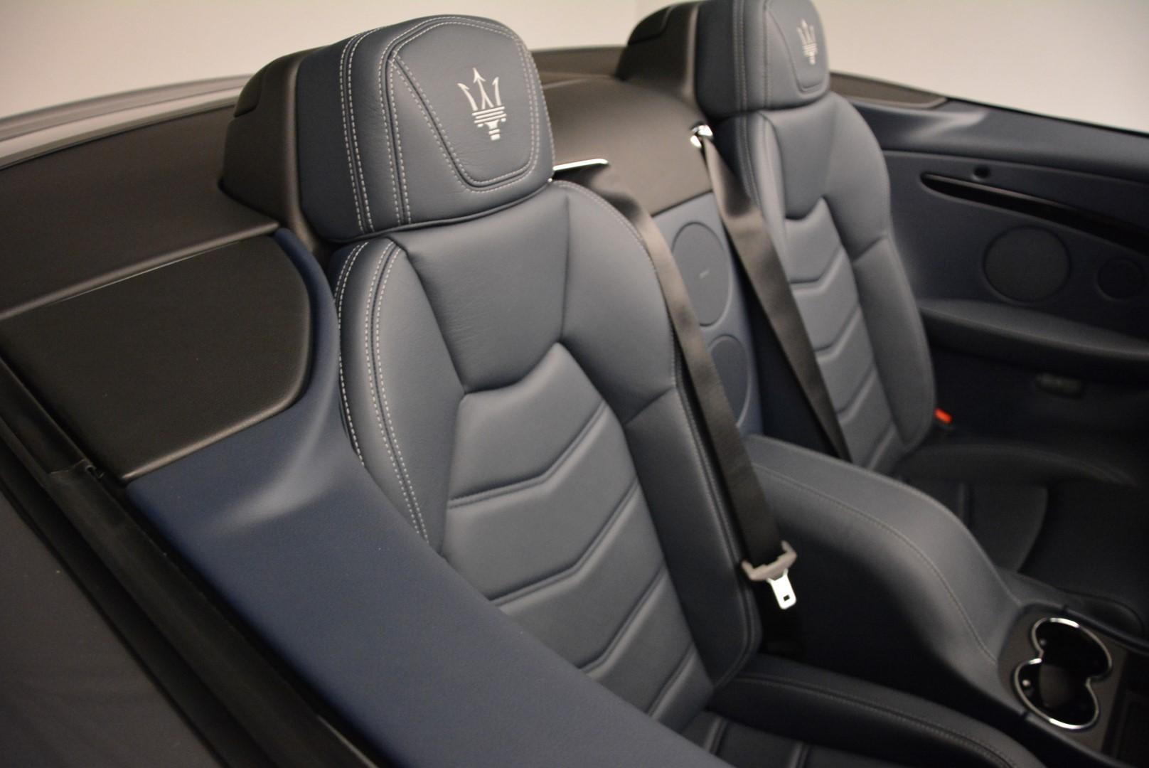 New 2016 Maserati GranTurismo Convertible Sport For Sale In Greenwich, CT 154_p31