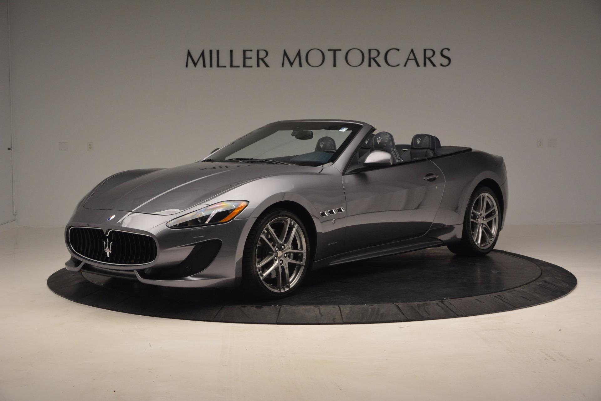 New 2016 Maserati GranTurismo Convertible Sport For Sale In Greenwich, CT 154_p3