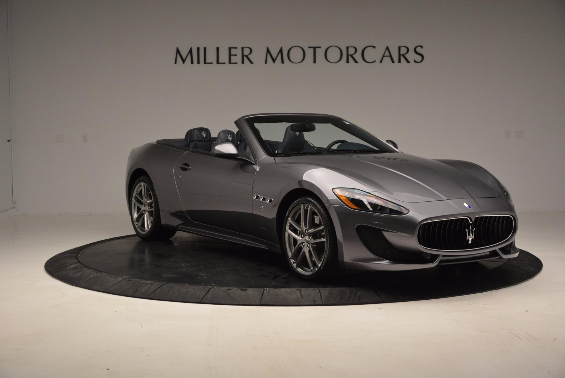 New 2016 Maserati GranTurismo Convertible Sport For Sale In Greenwich, CT 154_p8