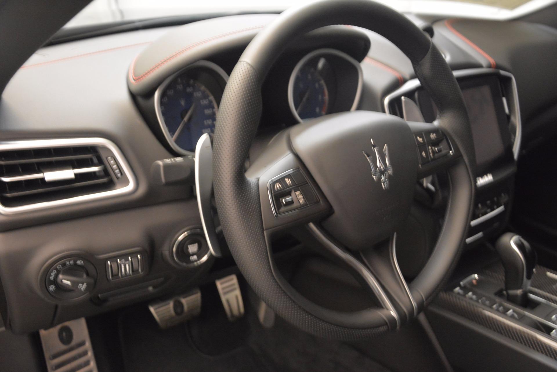 New 2018 Maserati Ghibli S Q4 GranSport For Sale In Greenwich, CT 1541_p16
