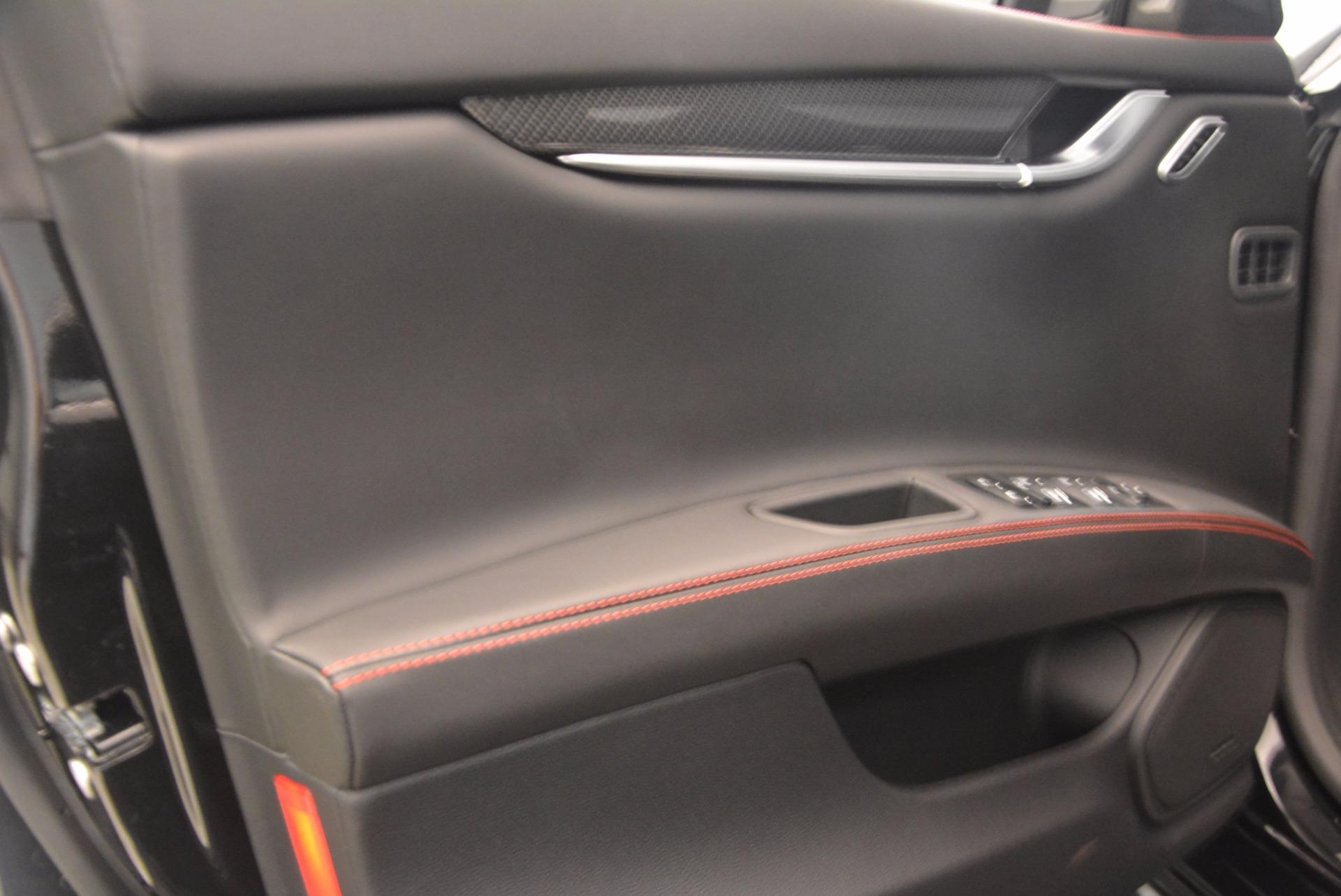 New 2018 Maserati Ghibli S Q4 GranSport For Sale In Greenwich, CT 1541_p18