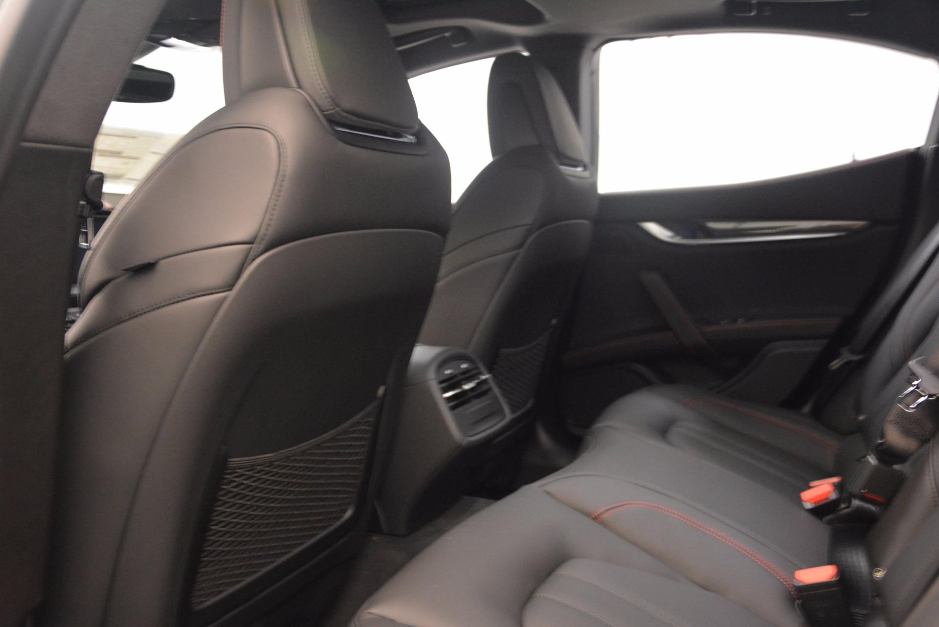 New 2018 Maserati Ghibli S Q4 GranSport For Sale In Greenwich, CT 1541_p20