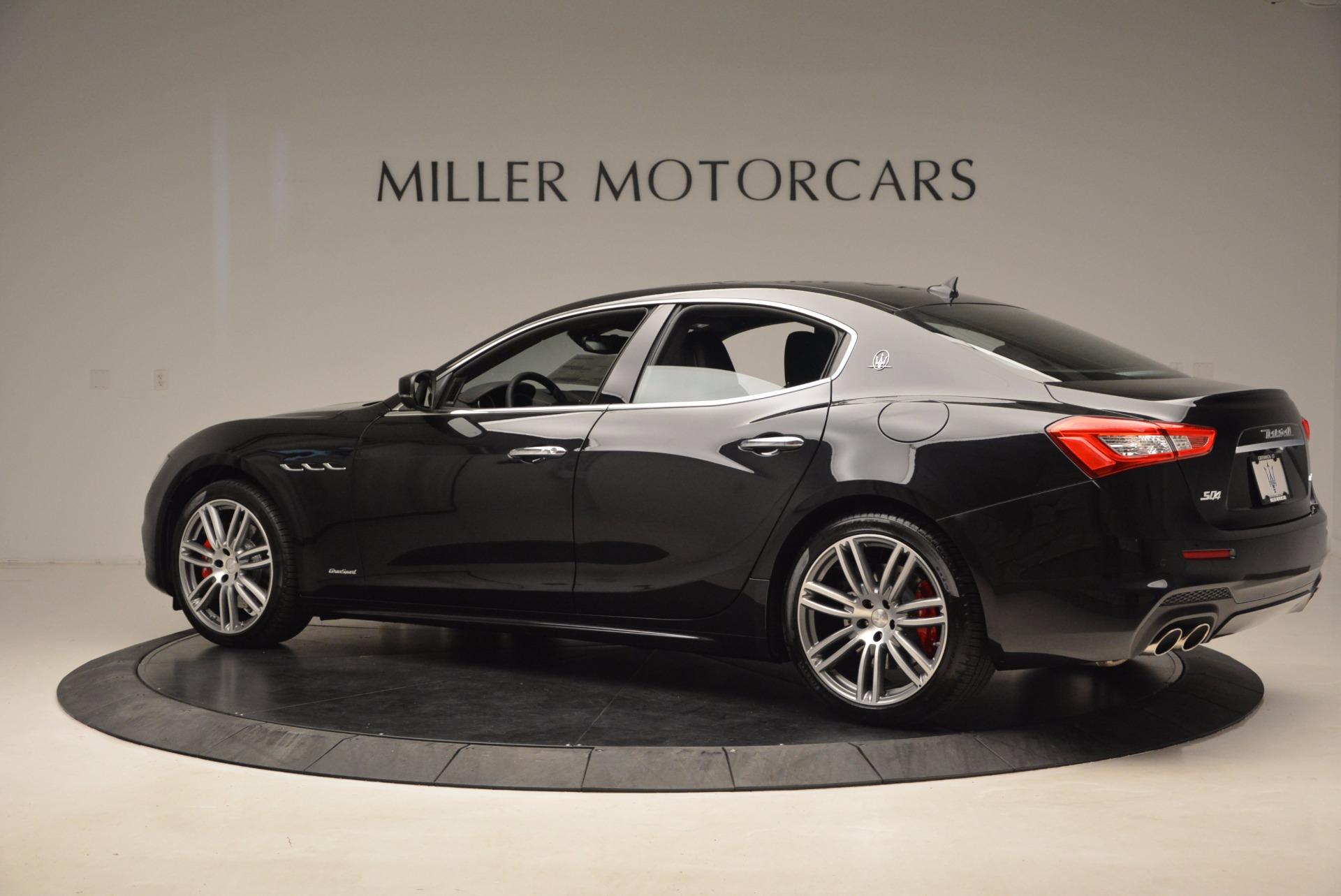 New 2018 Maserati Ghibli S Q4 GranSport For Sale In Greenwich, CT 1541_p4