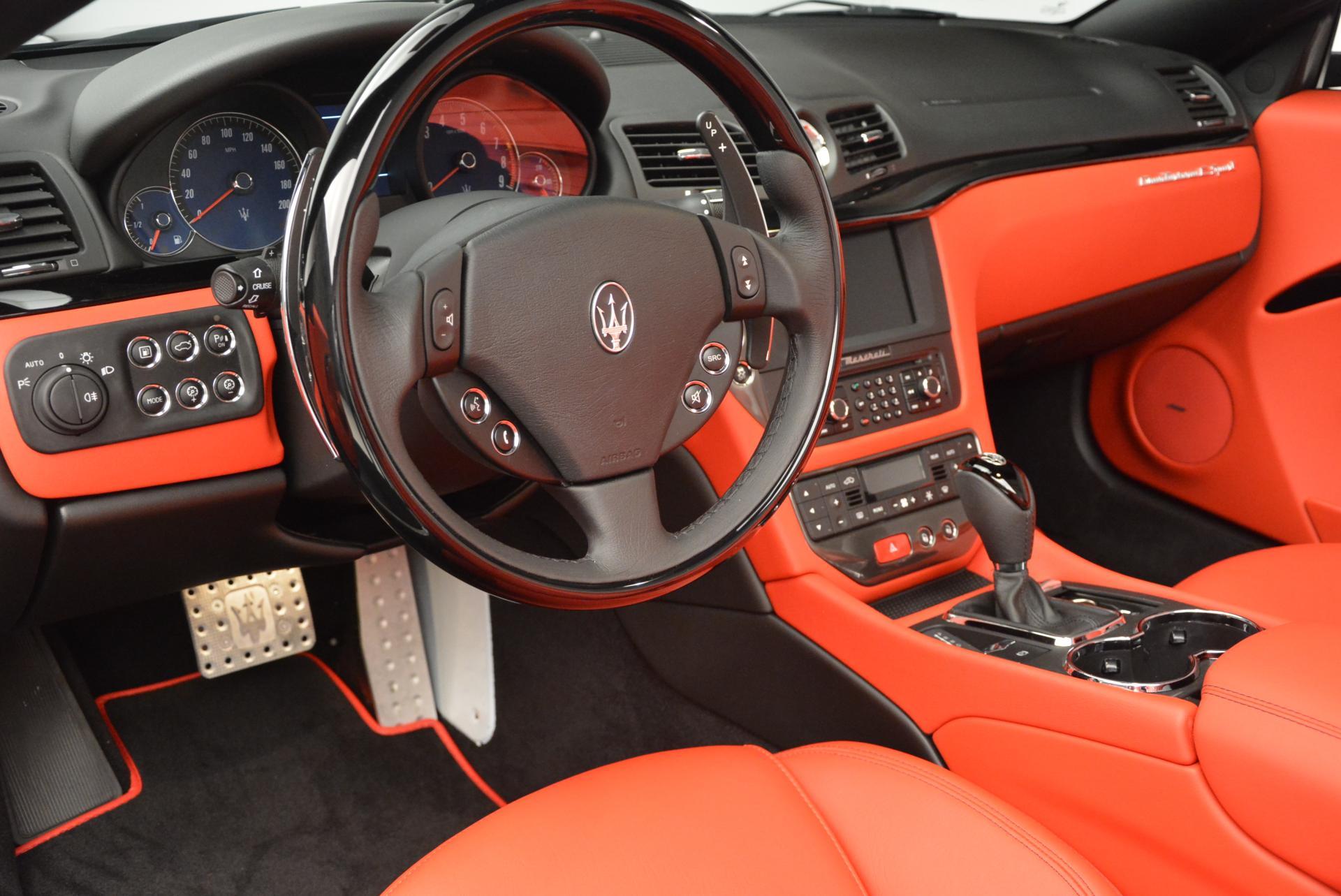 New 2016 Maserati GranTurismo Convertible Sport For Sale In Greenwich, CT 155_p25