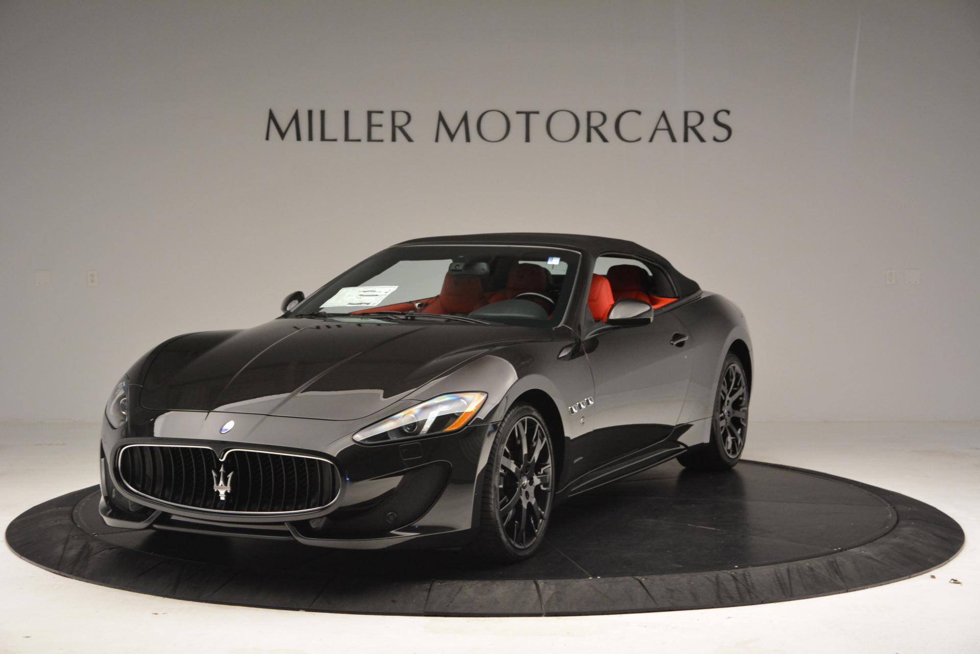 New 2016 Maserati GranTurismo Convertible Sport For Sale In Greenwich, CT 155_p2