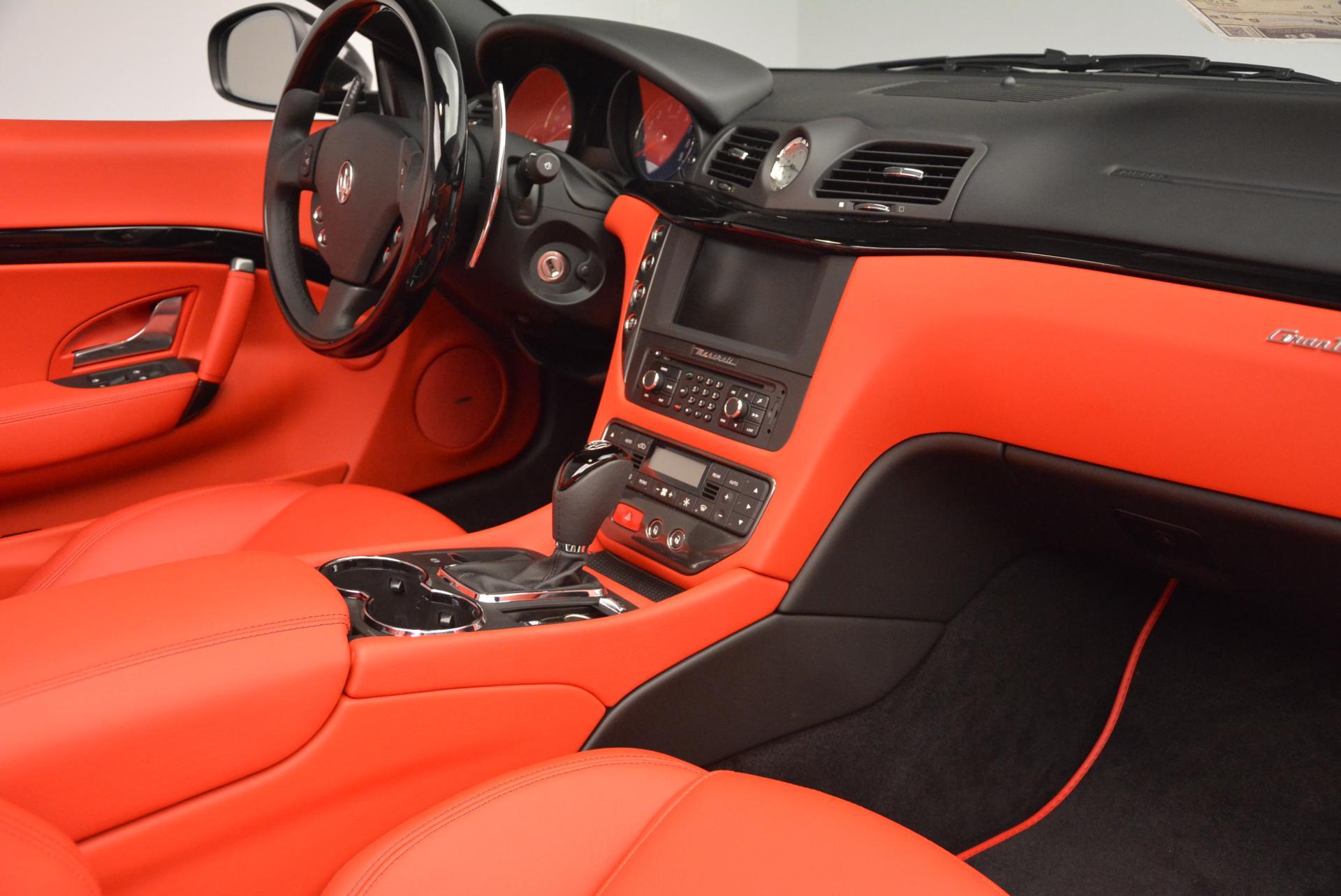New 2016 Maserati GranTurismo Convertible Sport For Sale In Greenwich, CT 155_p31