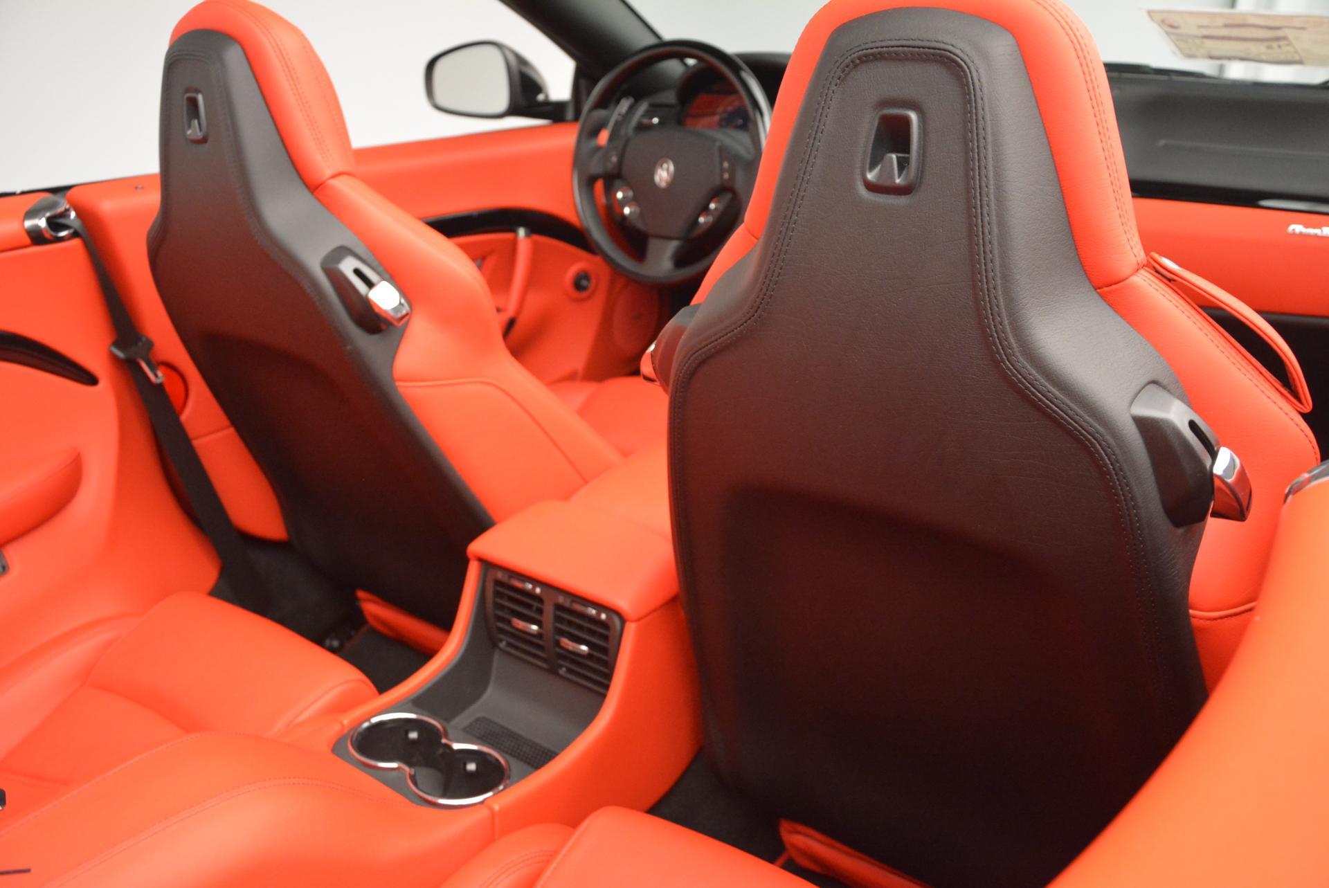 New 2016 Maserati GranTurismo Convertible Sport For Sale In Greenwich, CT 155_p34