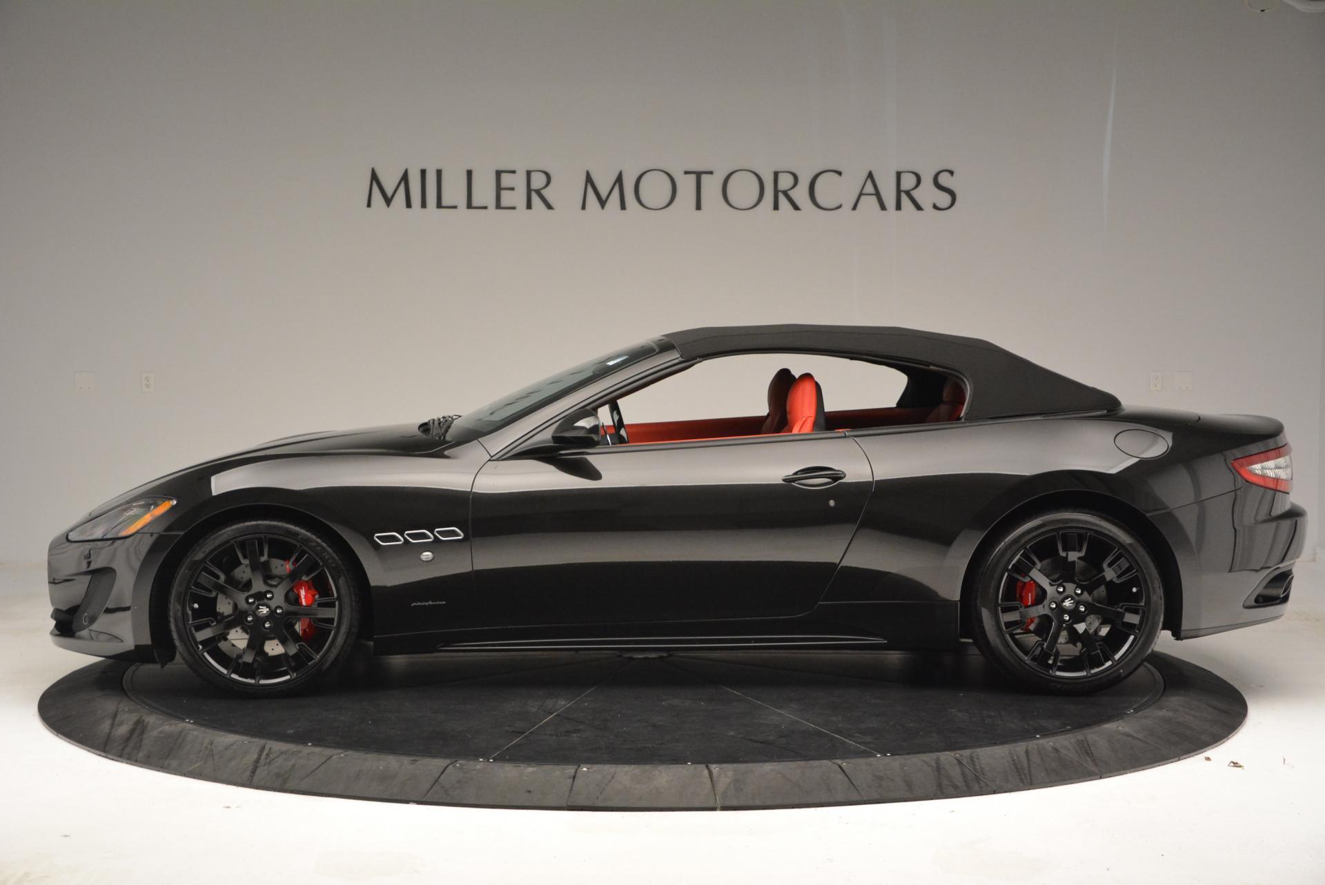 New 2016 Maserati GranTurismo Convertible Sport For Sale In Greenwich, CT 155_p6