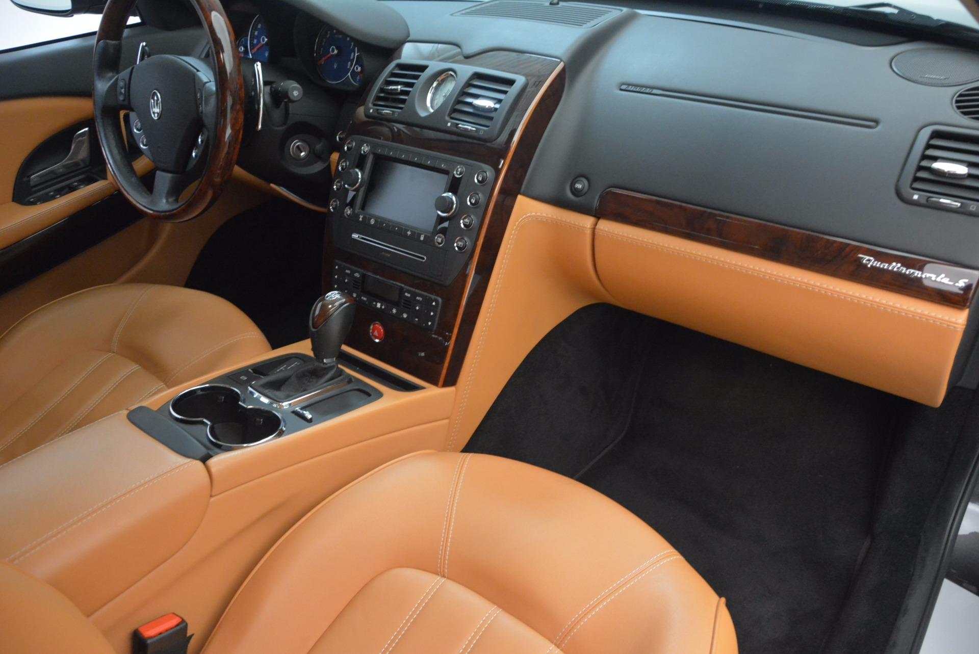 Used 2010 Maserati Quattroporte S For Sale In Greenwich, CT 1551_p34