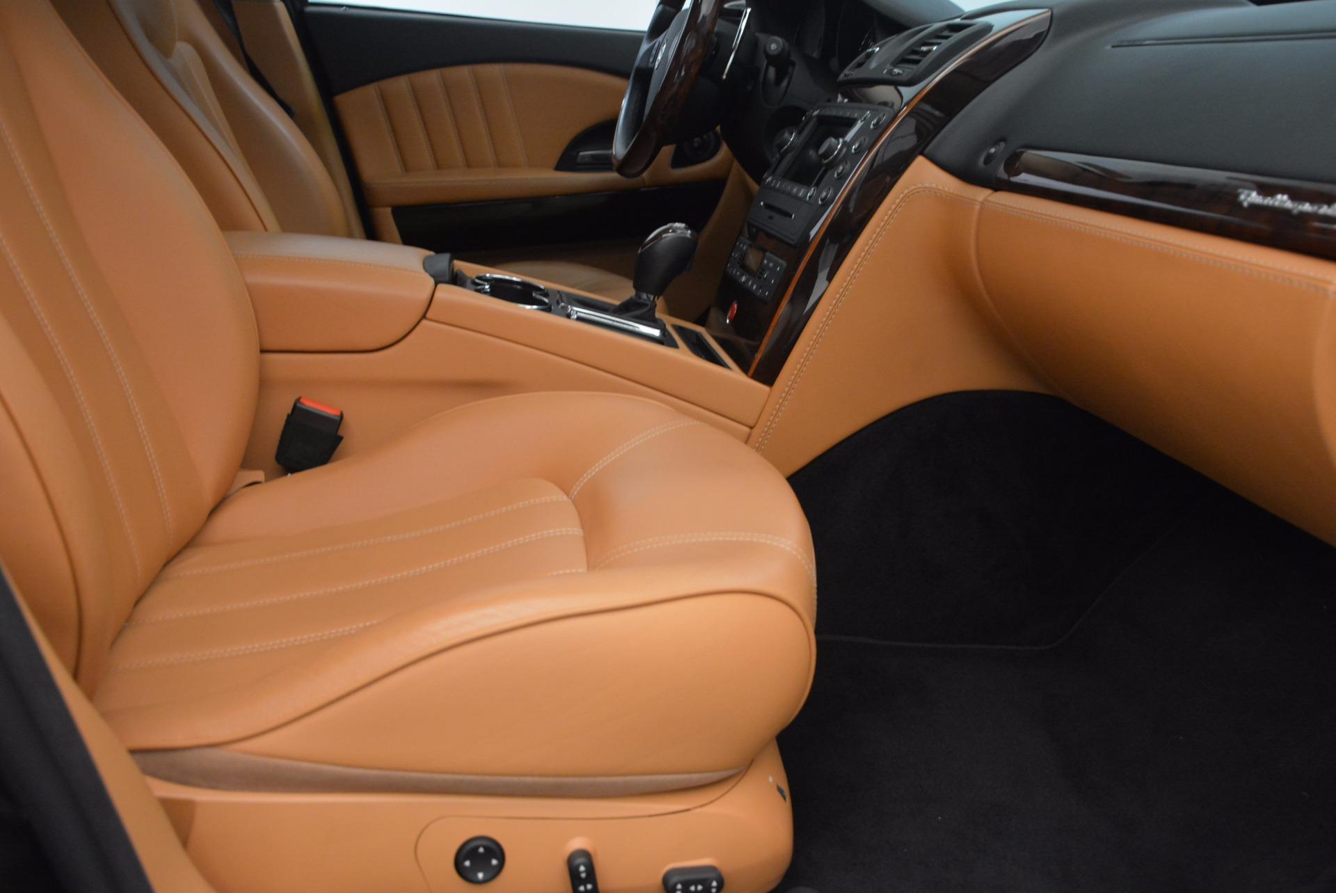 Used 2010 Maserati Quattroporte S For Sale In Greenwich, CT 1551_p35
