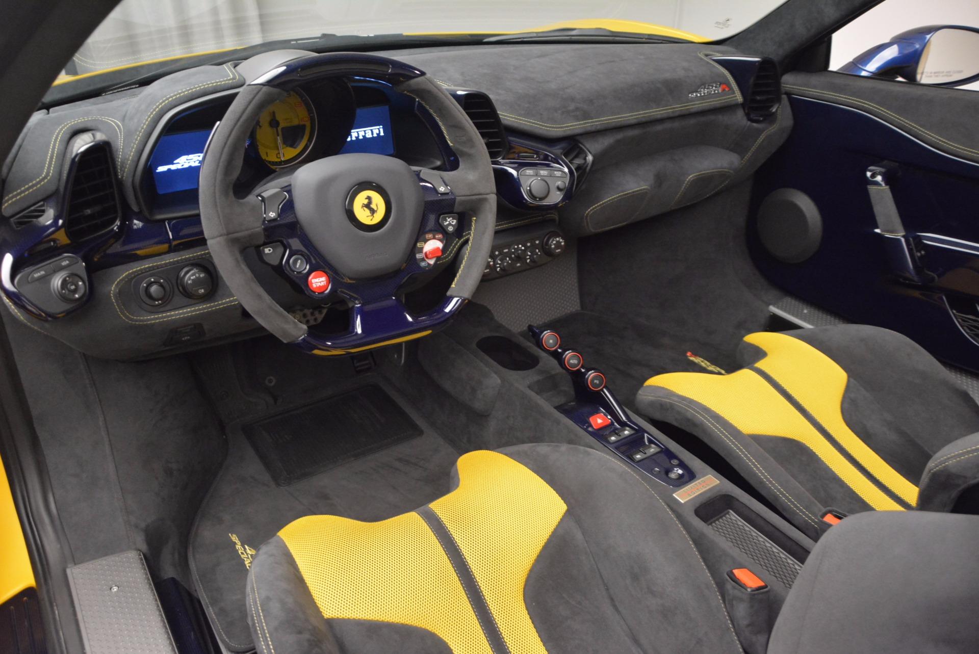 Used 2015 Ferrari 458 Speciale Aperta  For Sale In Greenwich, CT 1555_p21
