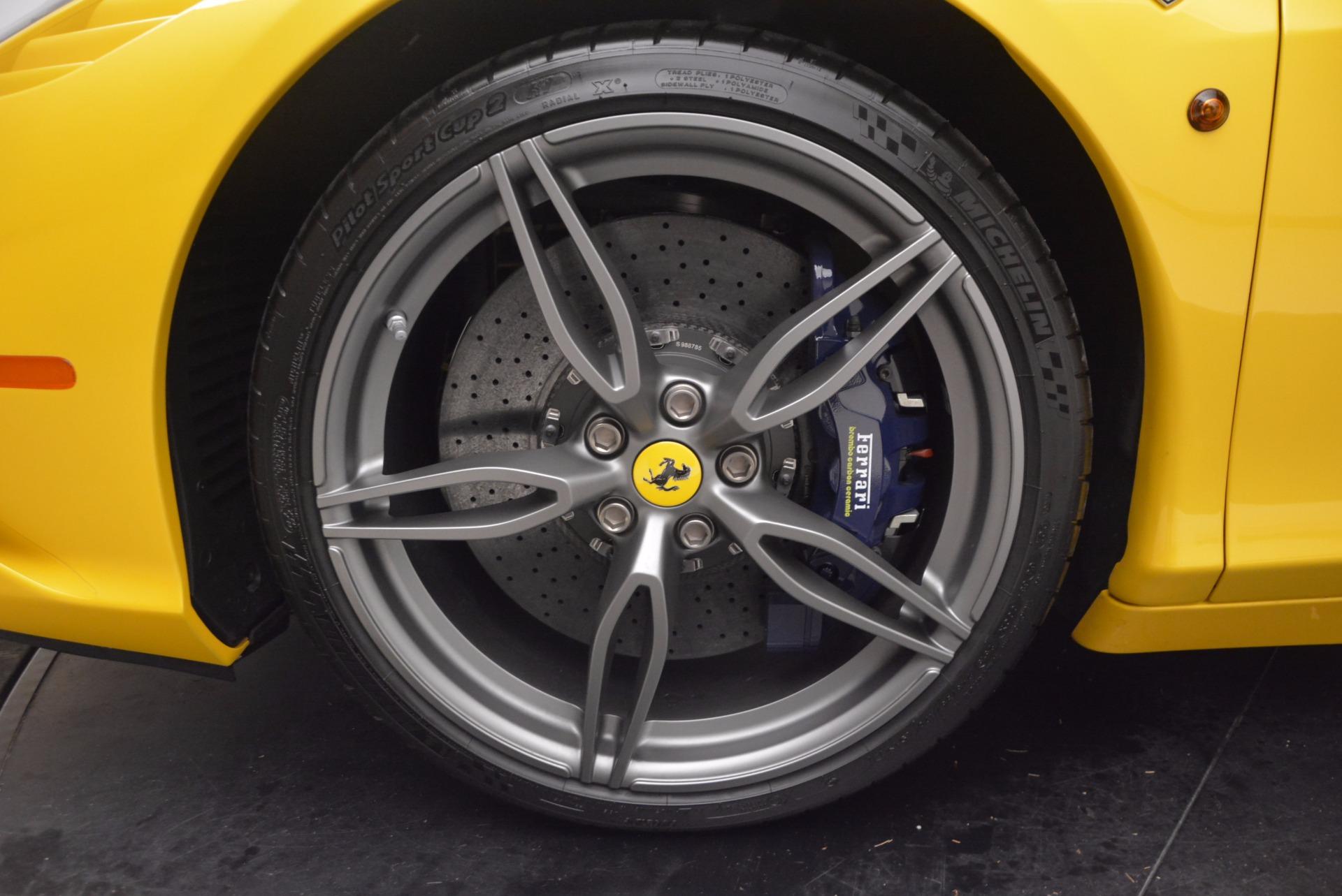 Used 2015 Ferrari 458 Speciale Aperta  For Sale In Greenwich, CT 1555_p28
