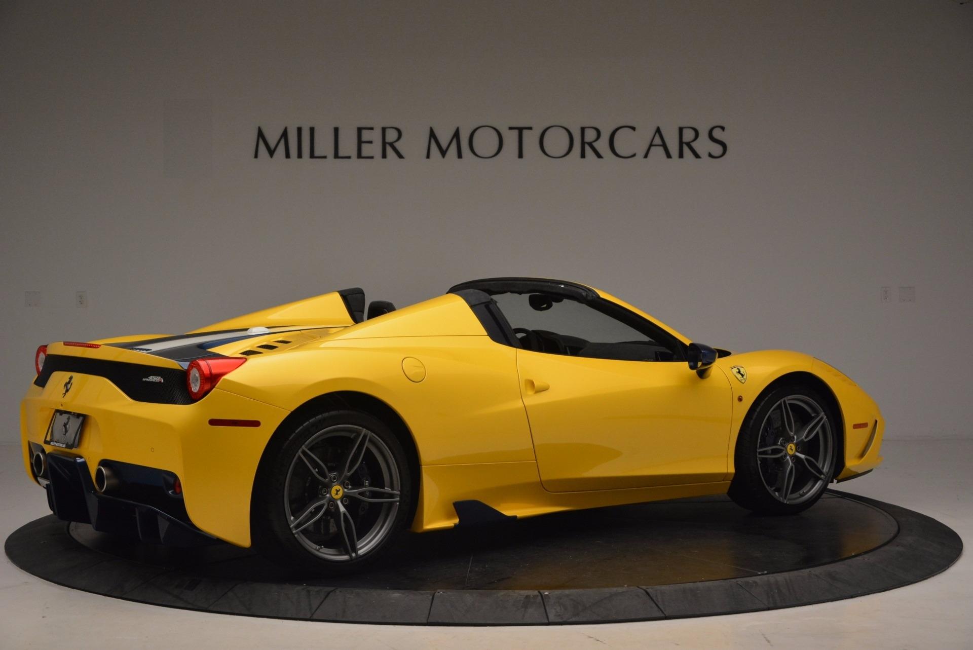 Used 2015 Ferrari 458 Speciale Aperta  For Sale In Greenwich, CT 1555_p8