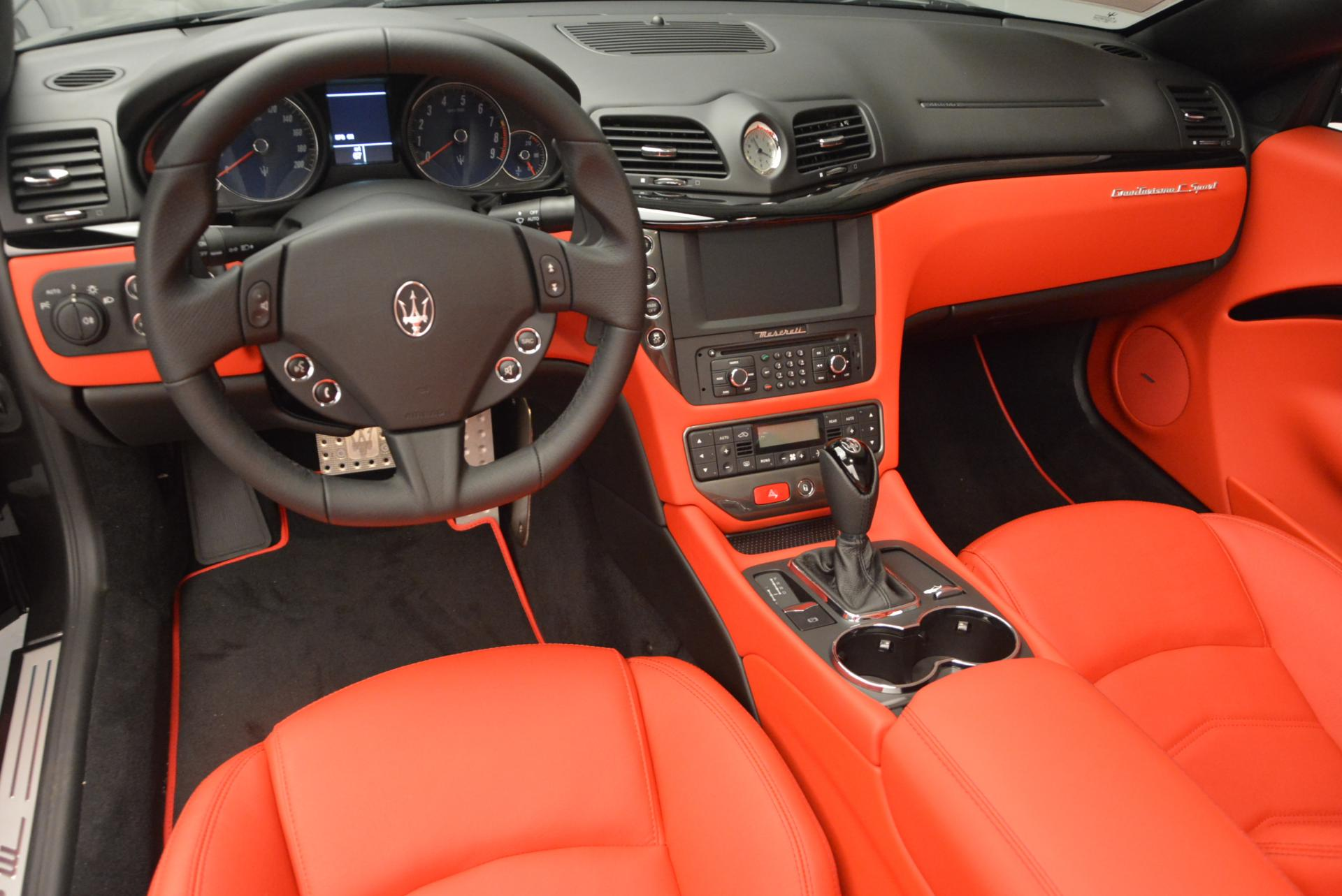 New 2017 Maserati GranTurismo Convertible Sport For Sale In Greenwich, CT 156_p17