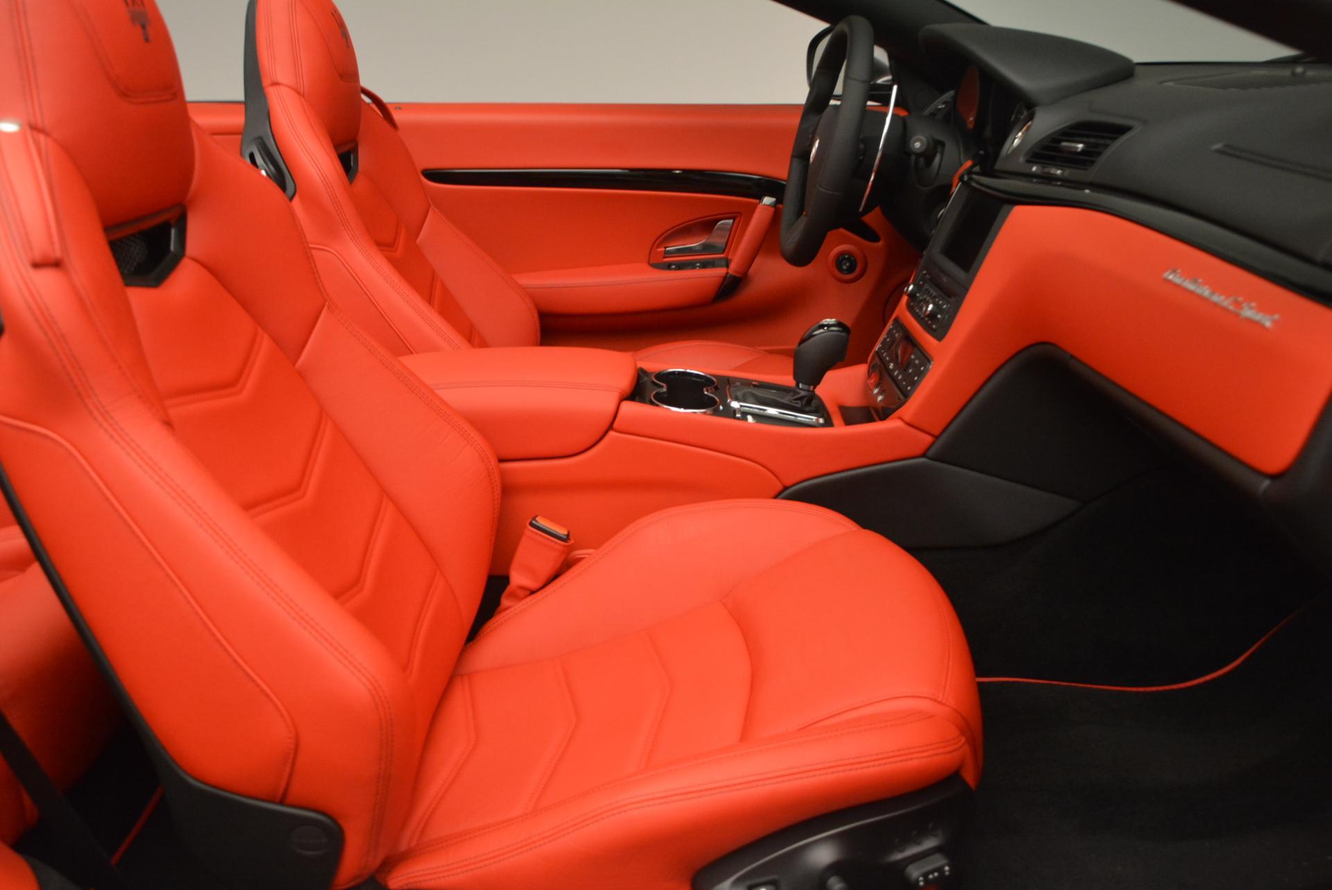 New 2017 Maserati GranTurismo Convertible Sport For Sale In Greenwich, CT 156_p24