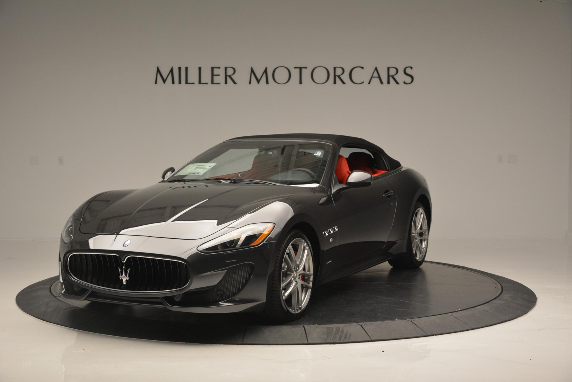 New 2017 Maserati GranTurismo Convertible Sport For Sale In Greenwich, CT 156_p2