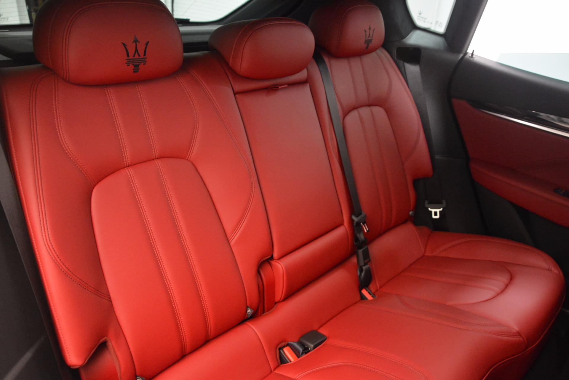New 2018 Maserati Levante Q4 GranSport For Sale In Greenwich, CT 1563_p24