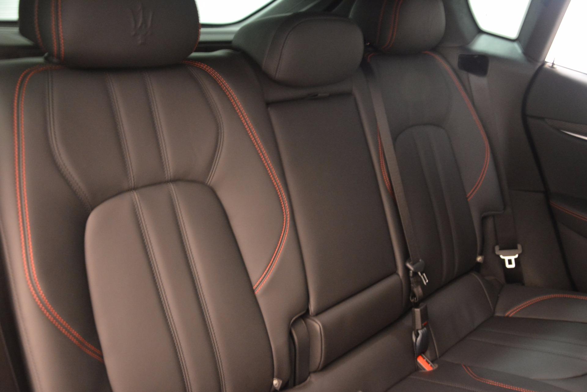 New 2018 Maserati Levante S Q4 GRANSPORT For Sale In Greenwich, CT 1578_p24