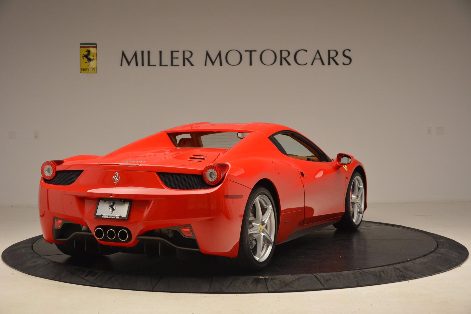 Used 2012 Ferrari 458 Spider  For Sale In Greenwich, CT 1581_p19