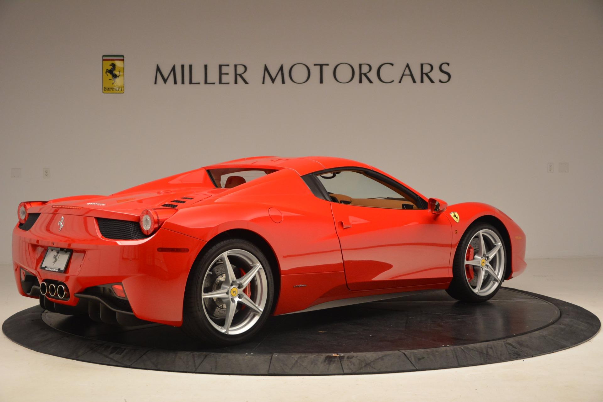 Used 2012 Ferrari 458 Spider  For Sale In Greenwich, CT 1581_p20