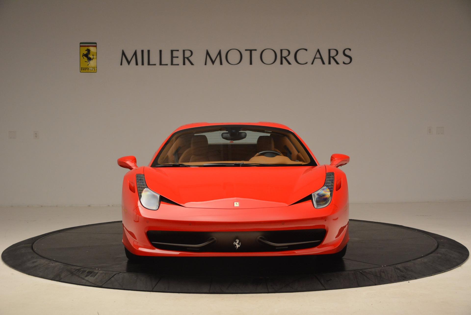 Used 2012 Ferrari 458 Spider  For Sale In Greenwich, CT 1581_p24