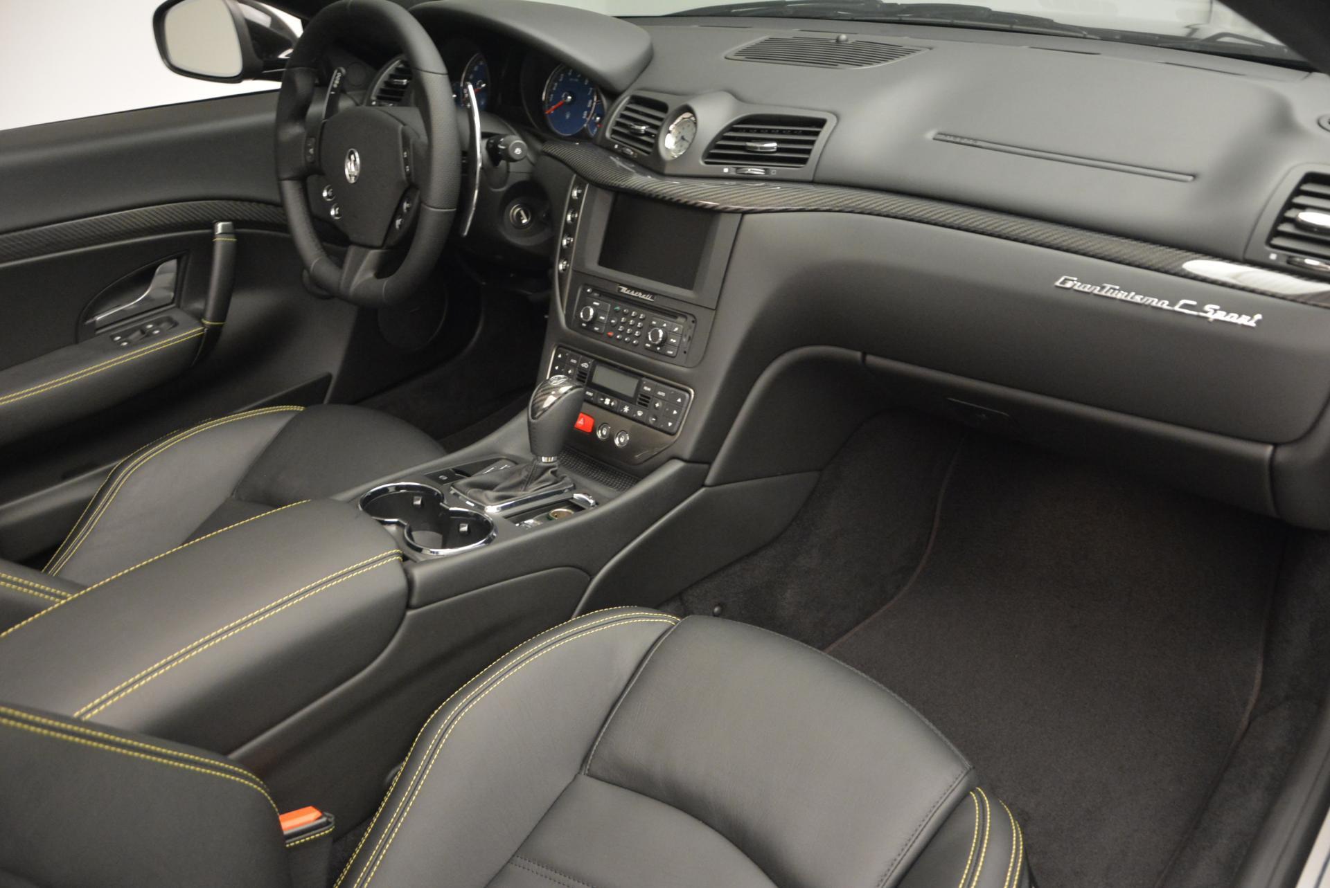 New 2017 Maserati GranTurismo Convertible Sport For Sale In Greenwich, CT 159_p25