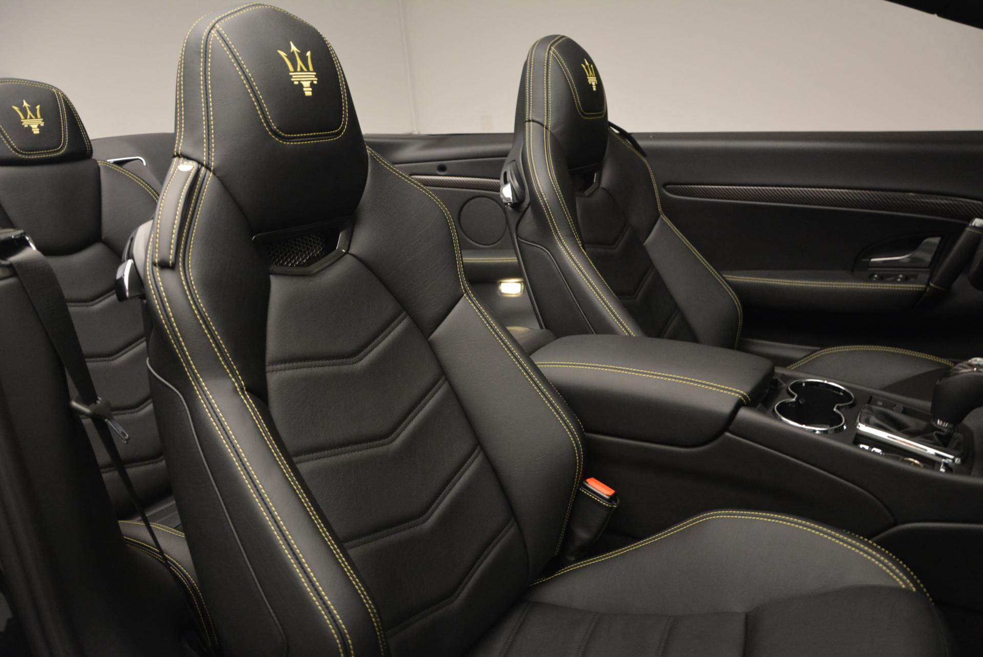 New 2017 Maserati GranTurismo Convertible Sport For Sale In Greenwich, CT 159_p27