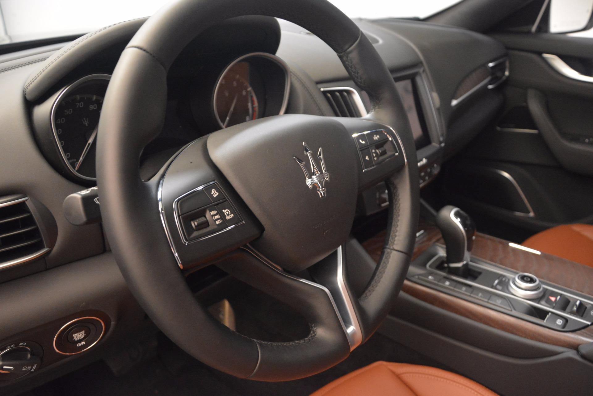 New 2018 Maserati Levante Q4 GranLusso For Sale In Greenwich, CT 1599_p16