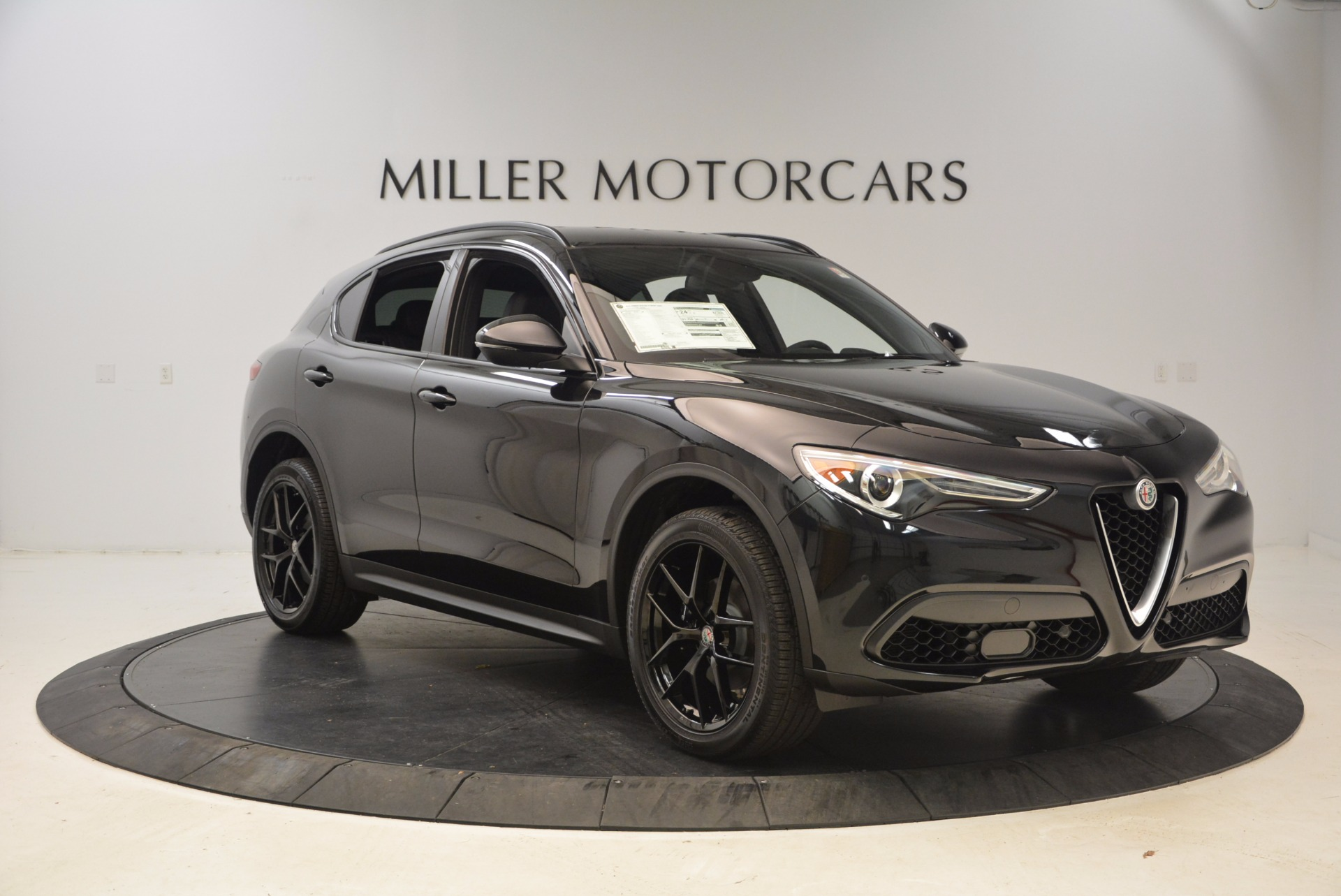 New 2018 Alfa Romeo Stelvio Ti Sport Q4 For Sale In Greenwich, CT 1605_p11