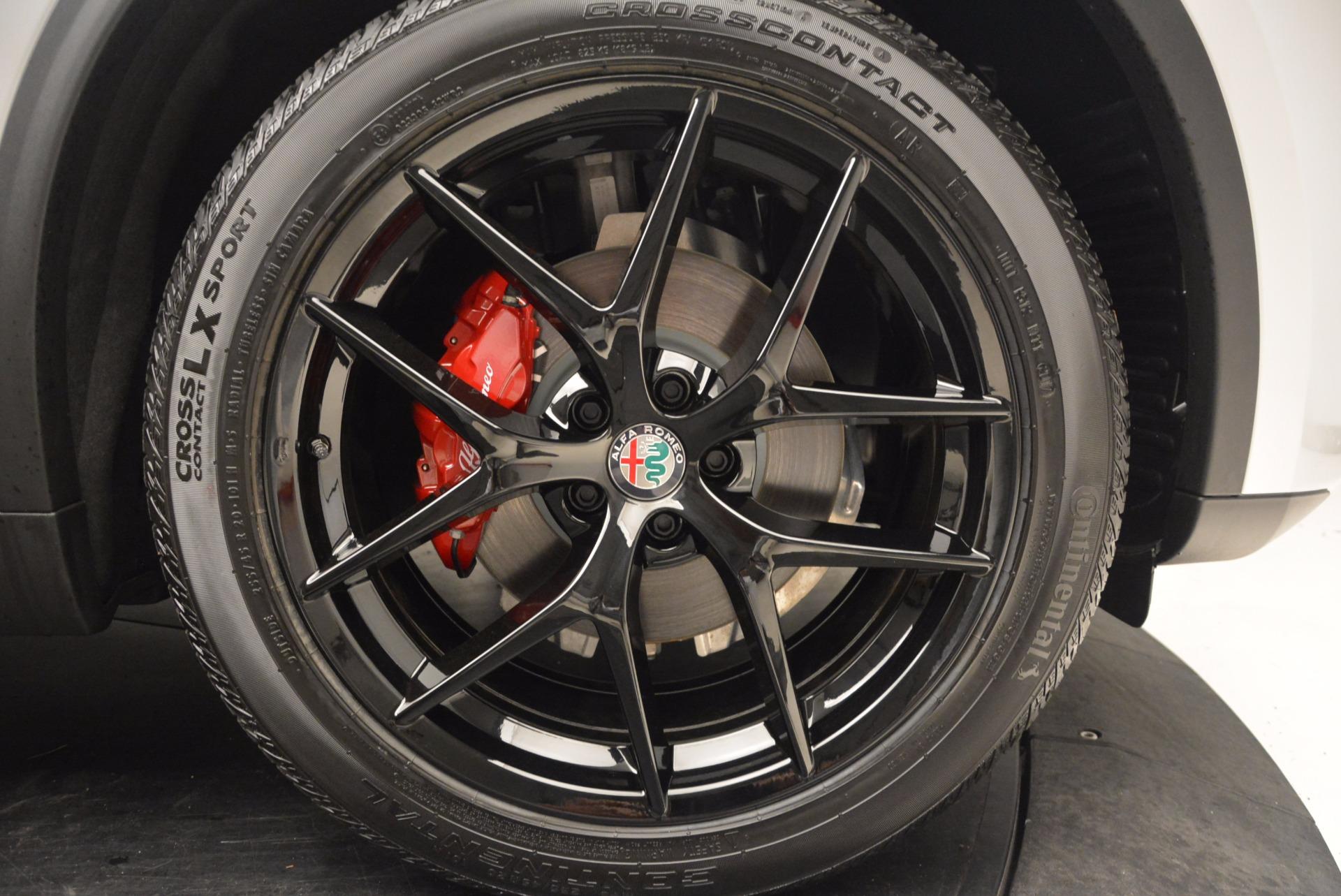 New 2018 Alfa Romeo Stelvio Ti Q4 For Sale In Greenwich, CT 1606_p25
