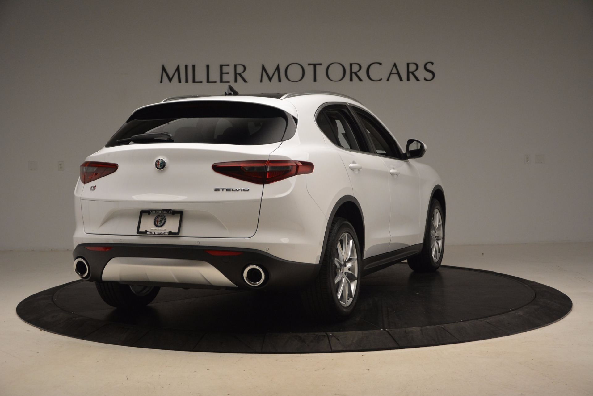 New 2018 Alfa Romeo Stelvio Ti Q4 For Sale In Greenwich, CT 1607_p7