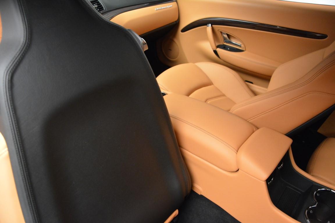 New 2016 Maserati GranTurismo Sport For Sale In Greenwich, CT 162_p19
