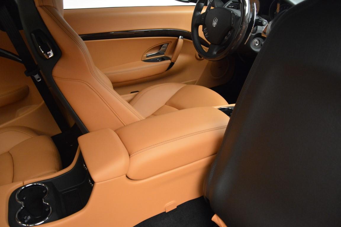 New 2016 Maserati GranTurismo Sport For Sale In Greenwich, CT 162_p24
