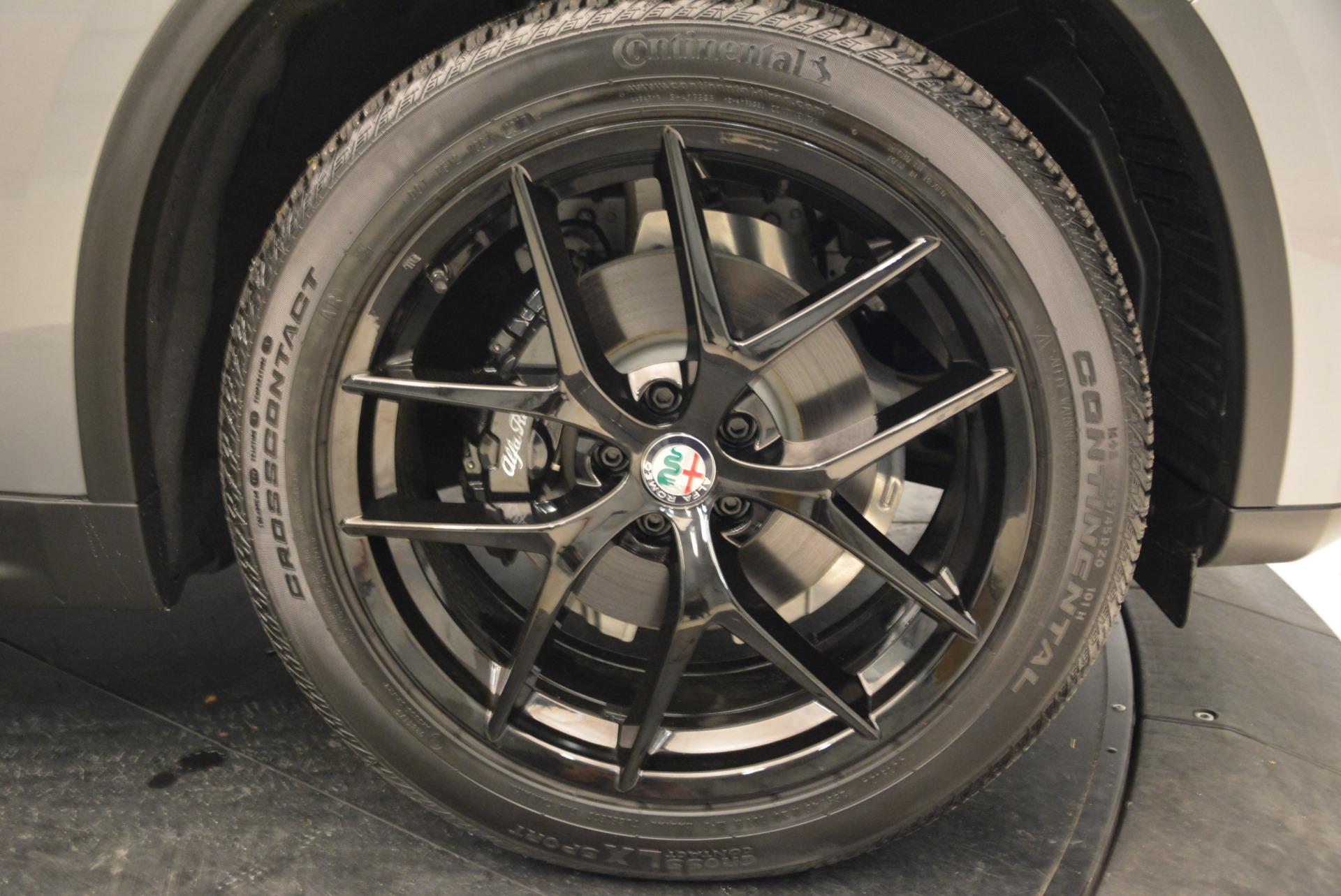 New 2018 Alfa Romeo Stelvio Ti Sport Q4 For Sale In Greenwich, CT 1621_p25